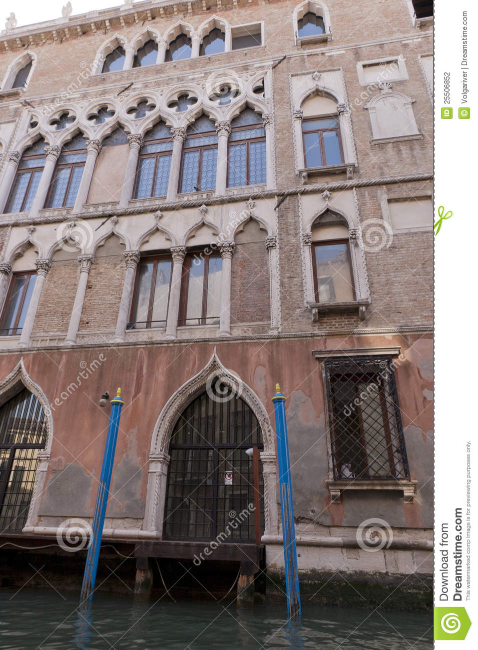 Casanova House In Venice Italy Stock Photography Image