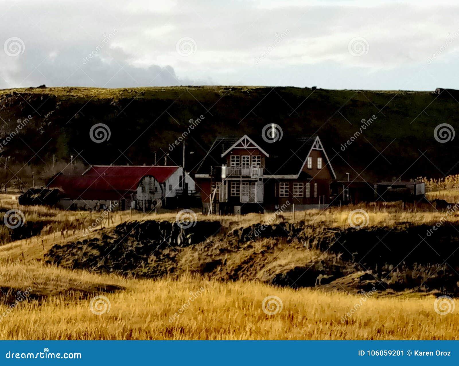 Casas bonitas em Islândia