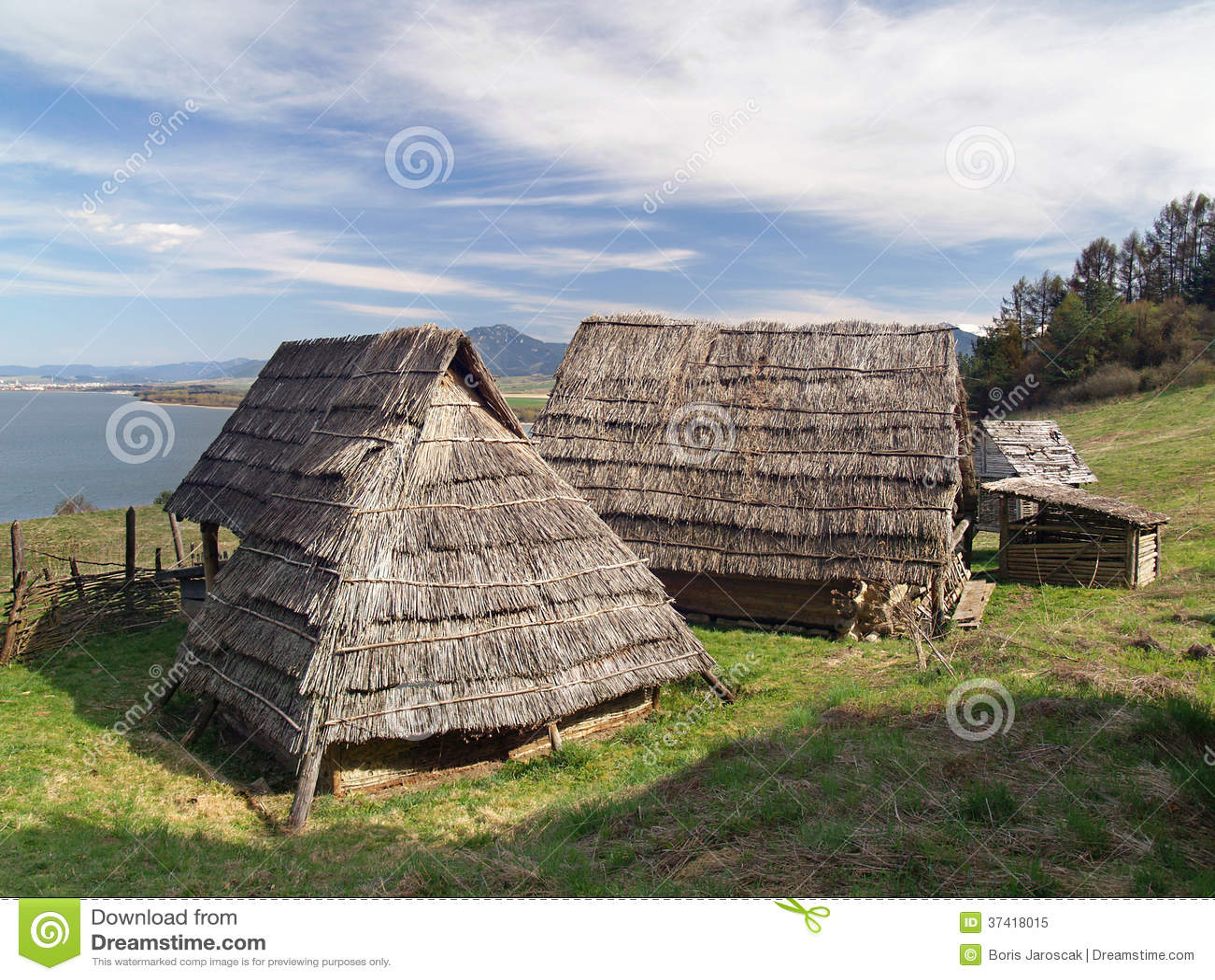 Casas celtas, Havranok Skansen, Eslováquia