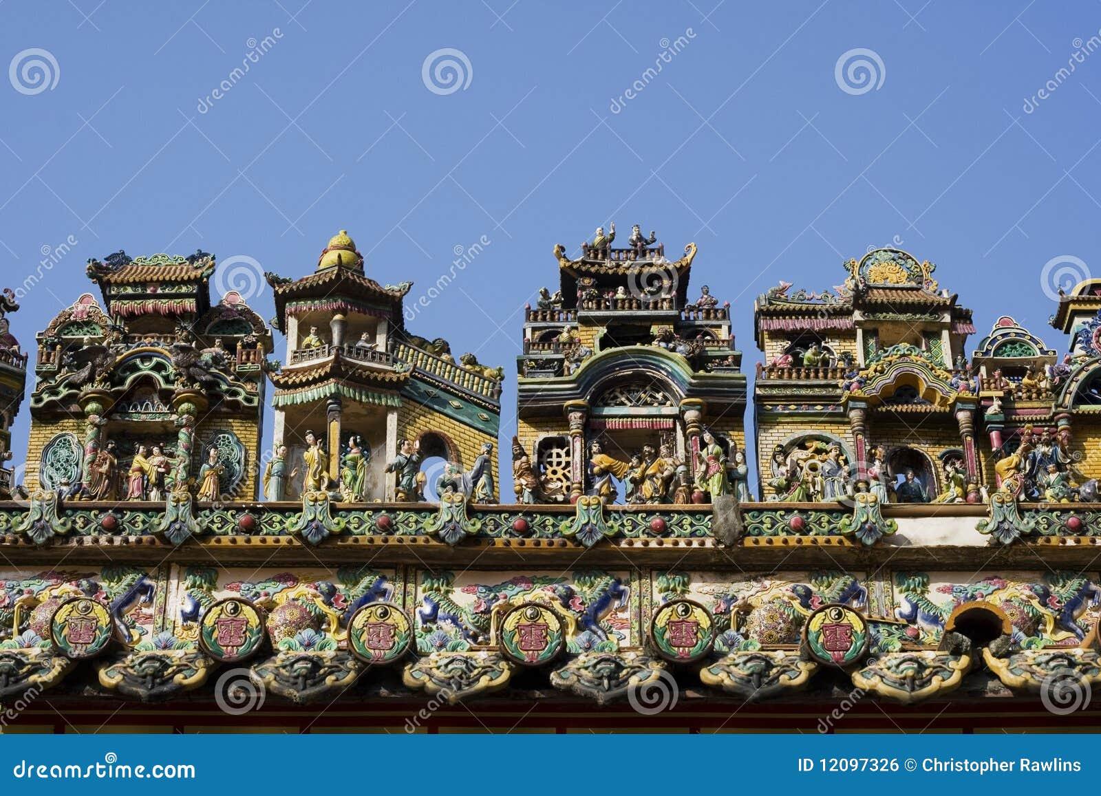 Casas chinesas bonitos