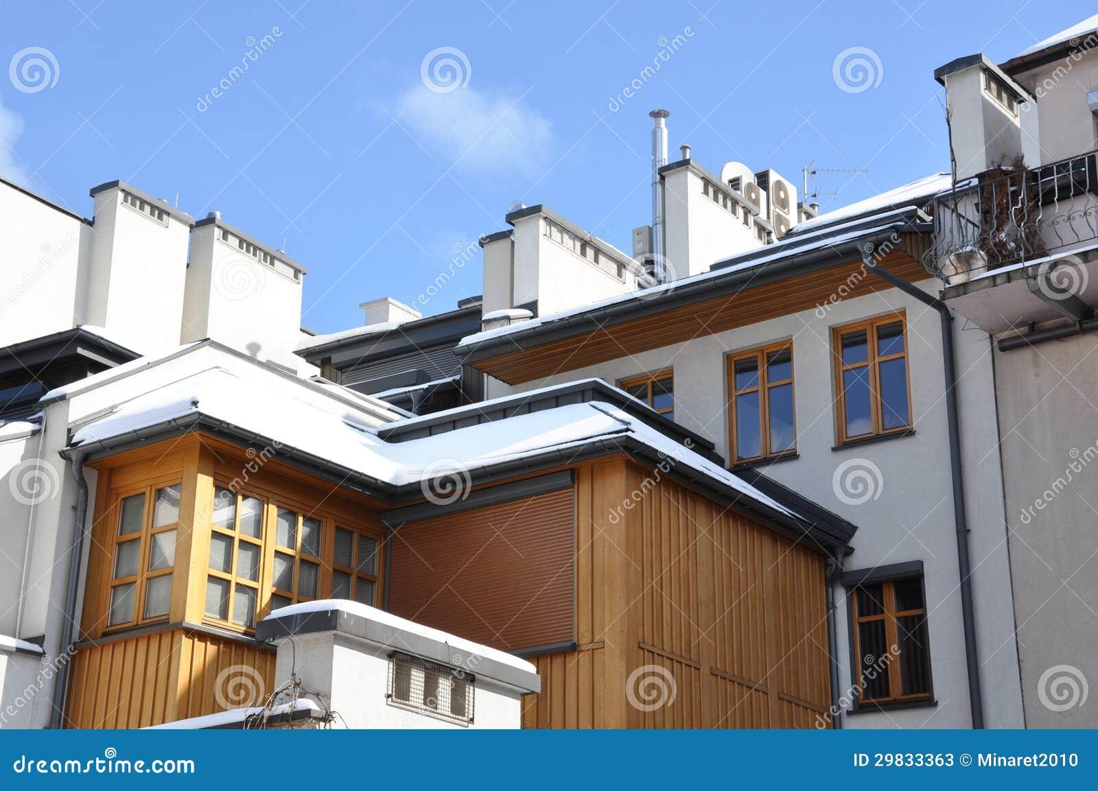 Casas da fachada