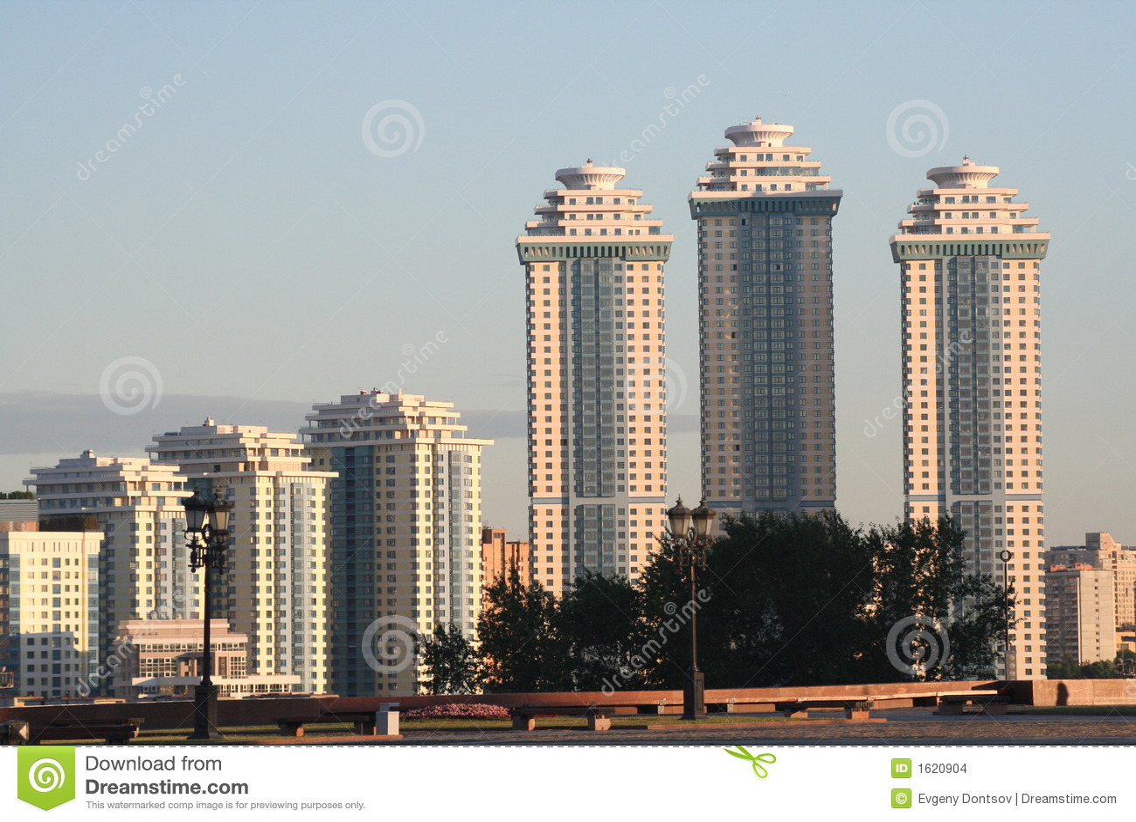 Casas de apartamento en Moscú