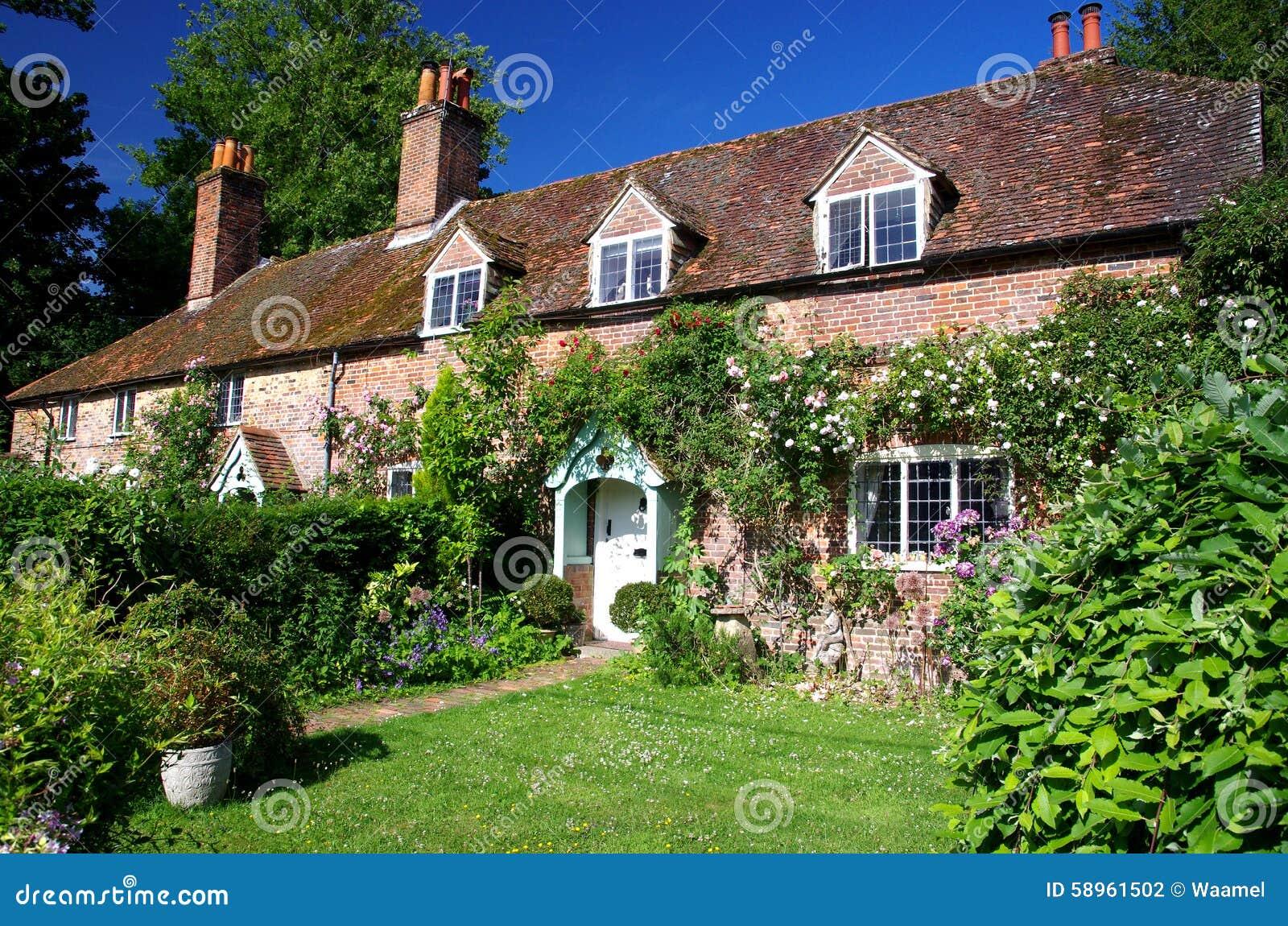 Casas de campo inglesas foto de stock imagem 58961502 - Casas de campo fotos ...