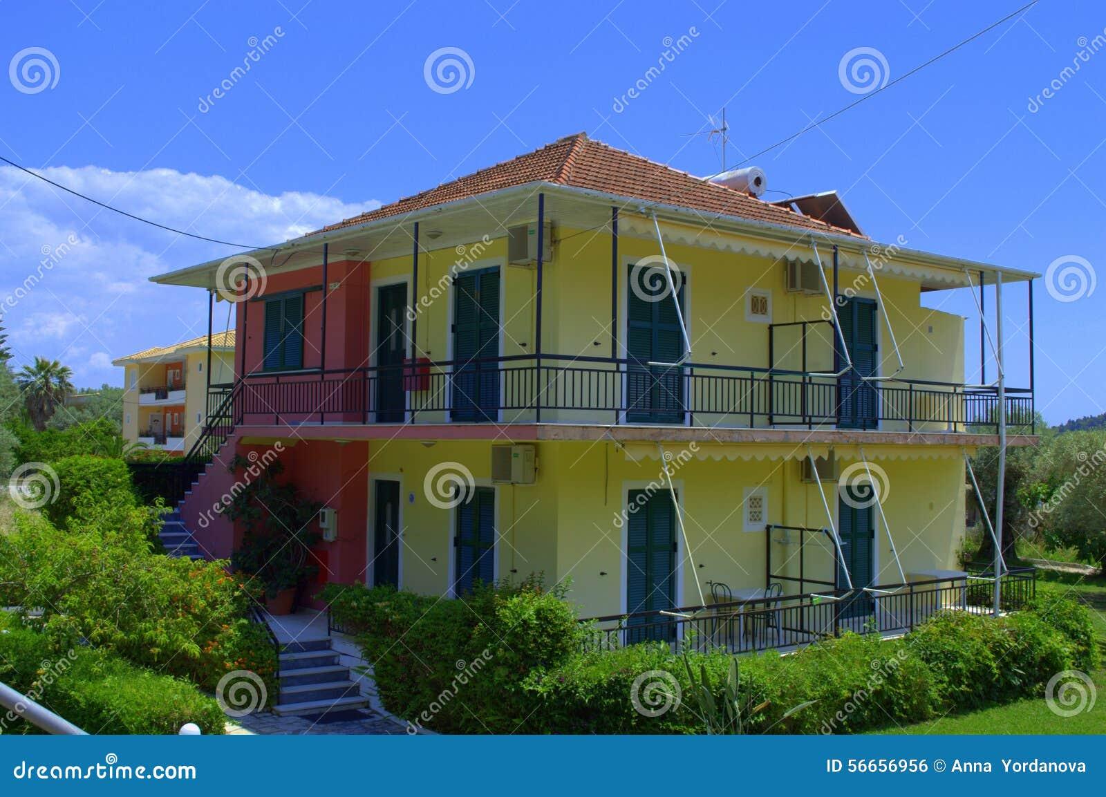 Casas de isla griegas foto de archivo imagen 56656956 for Casas en islas griegas