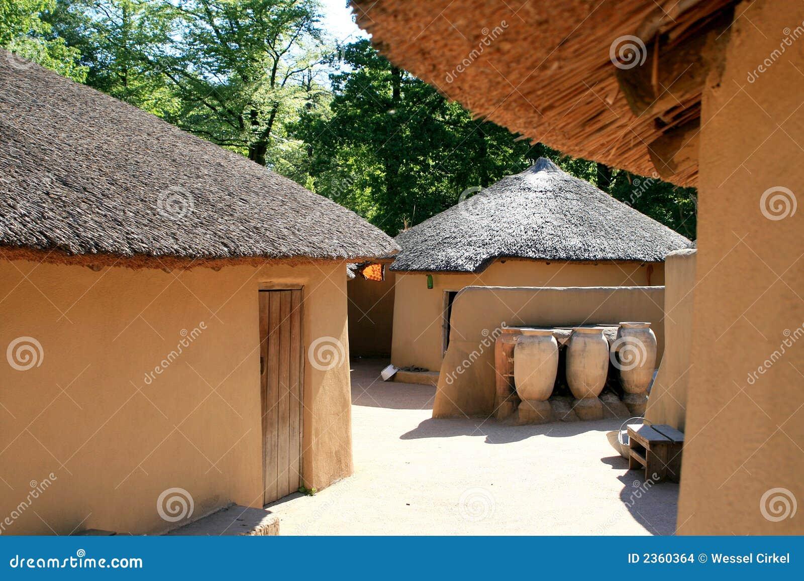 Casas de Kusasi de Ghana
