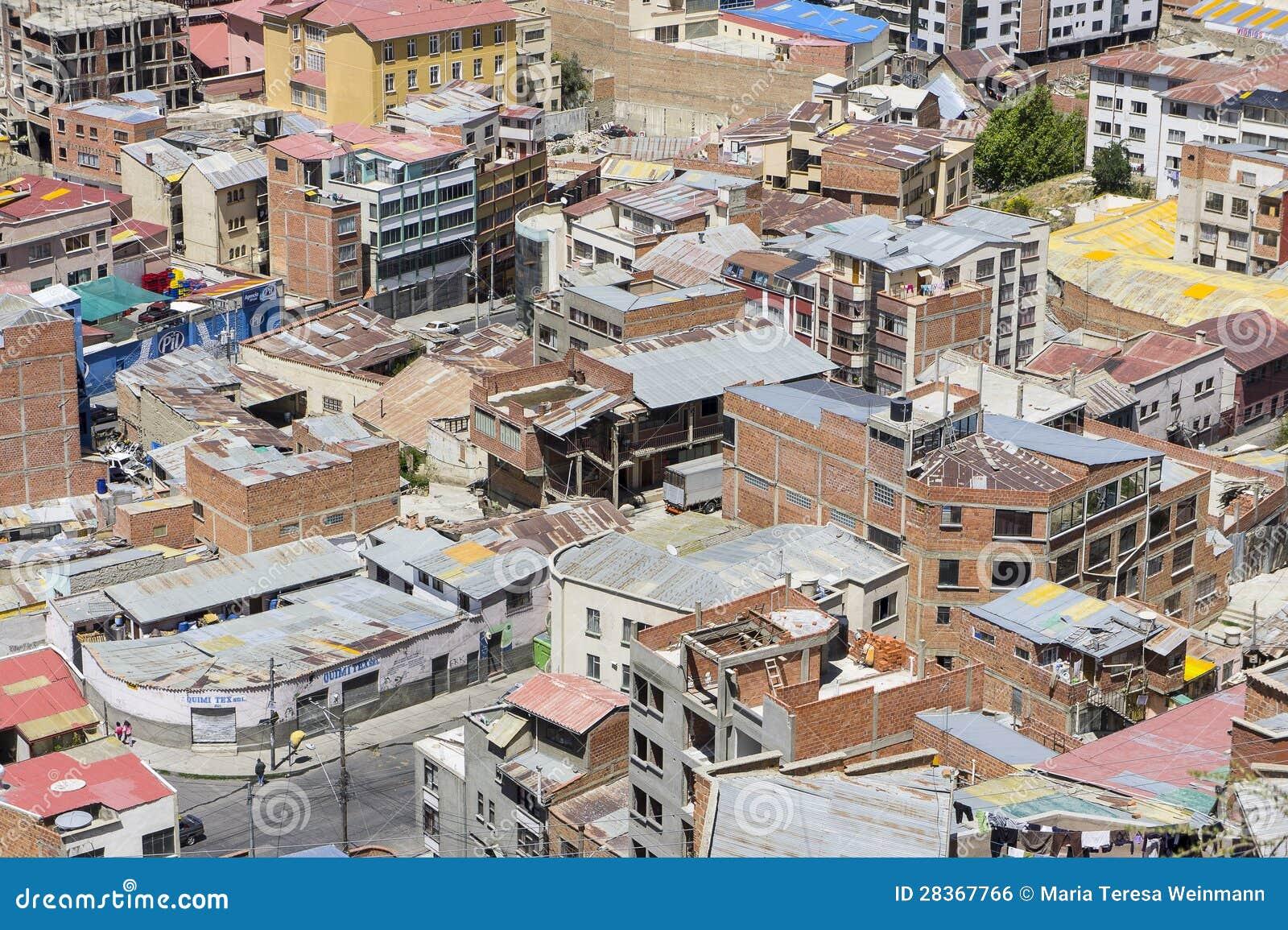 Casas de la paz bolivia foto editorial imagen 28367766 for Casas minimalistas la paz bolivia
