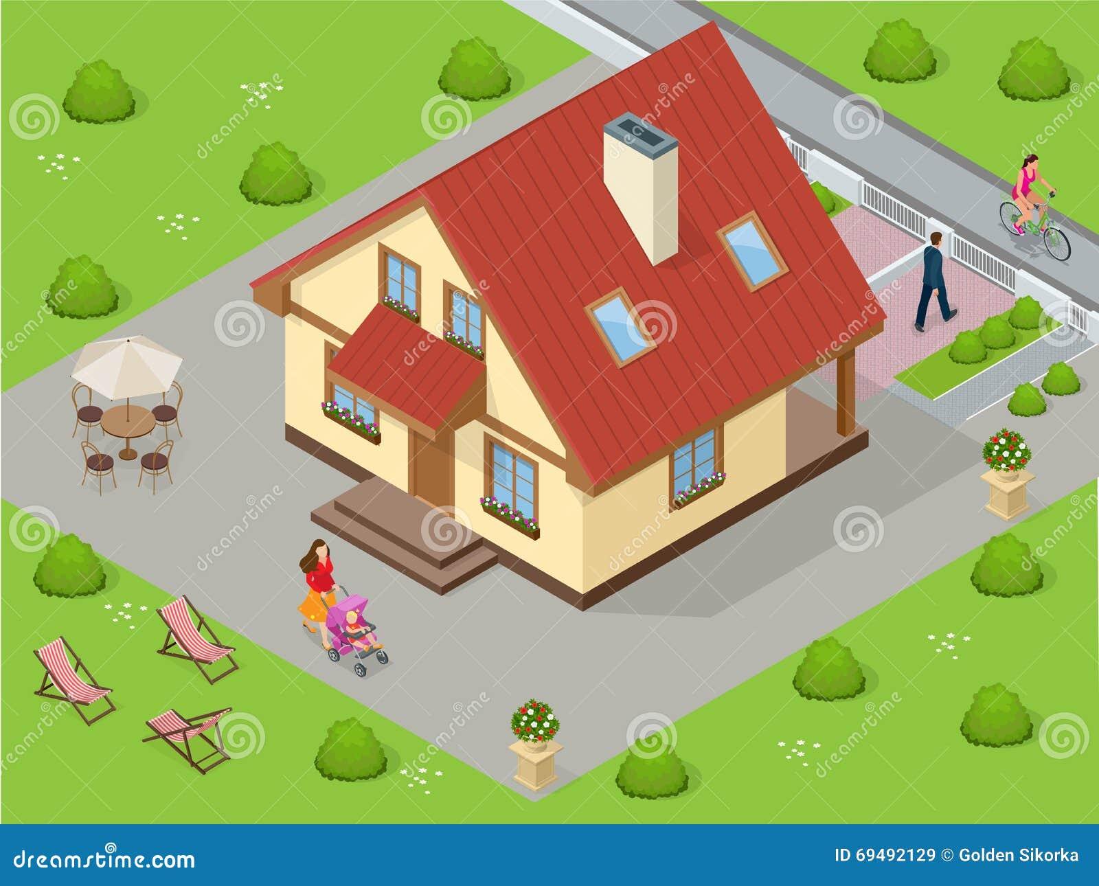 alquiler casa grande lujo plano