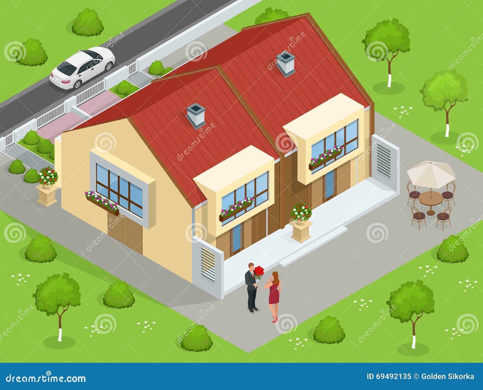 casas de las propiedades planos para la venta o para el alquiler casa