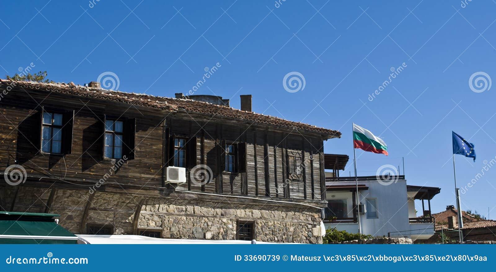 Casas De Madera Viejas Tradicionales En Sozopol, Bulgaria ... - photo#5