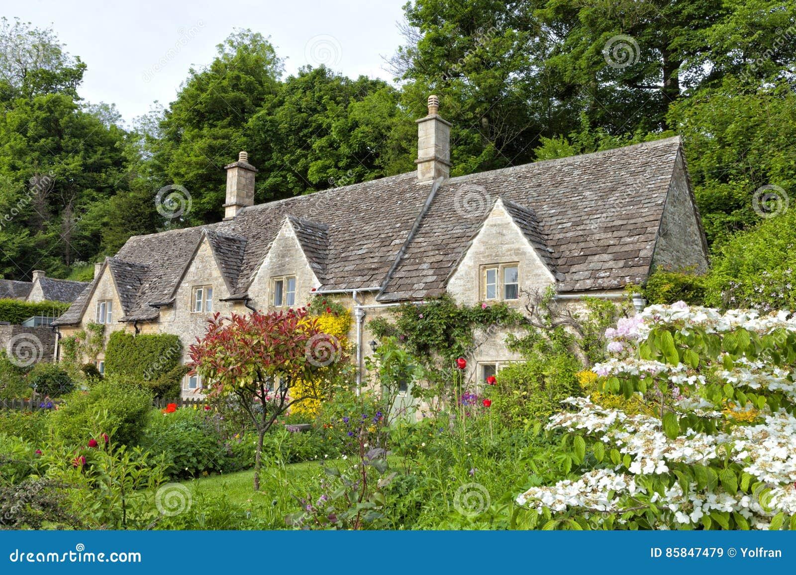 casas colorido flores jardines