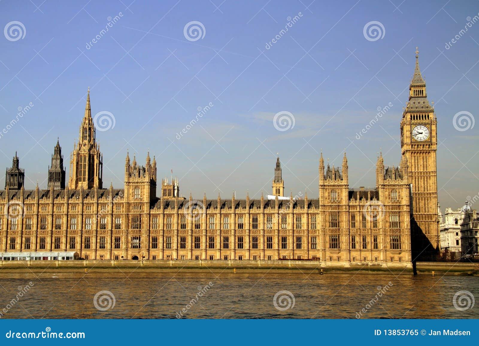 Casas del parlamento londres imagen de archivo imagen for Foto del parlamento