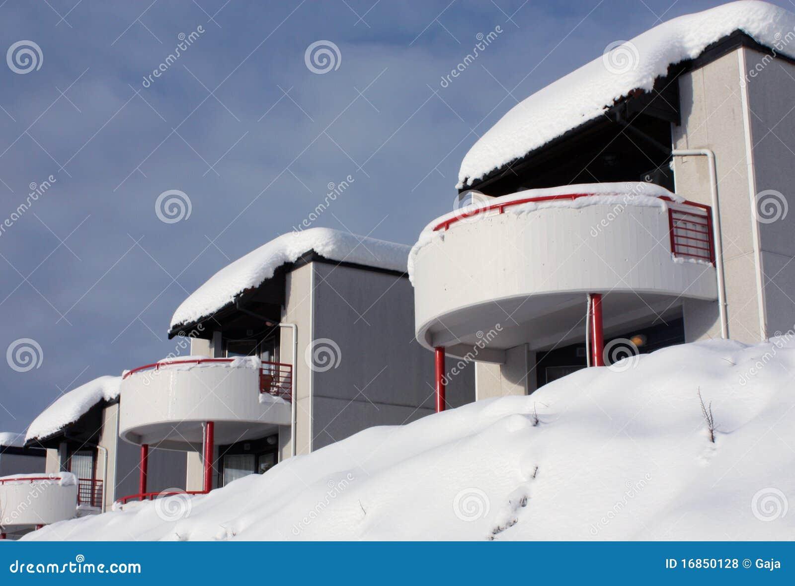 Casas do inverno