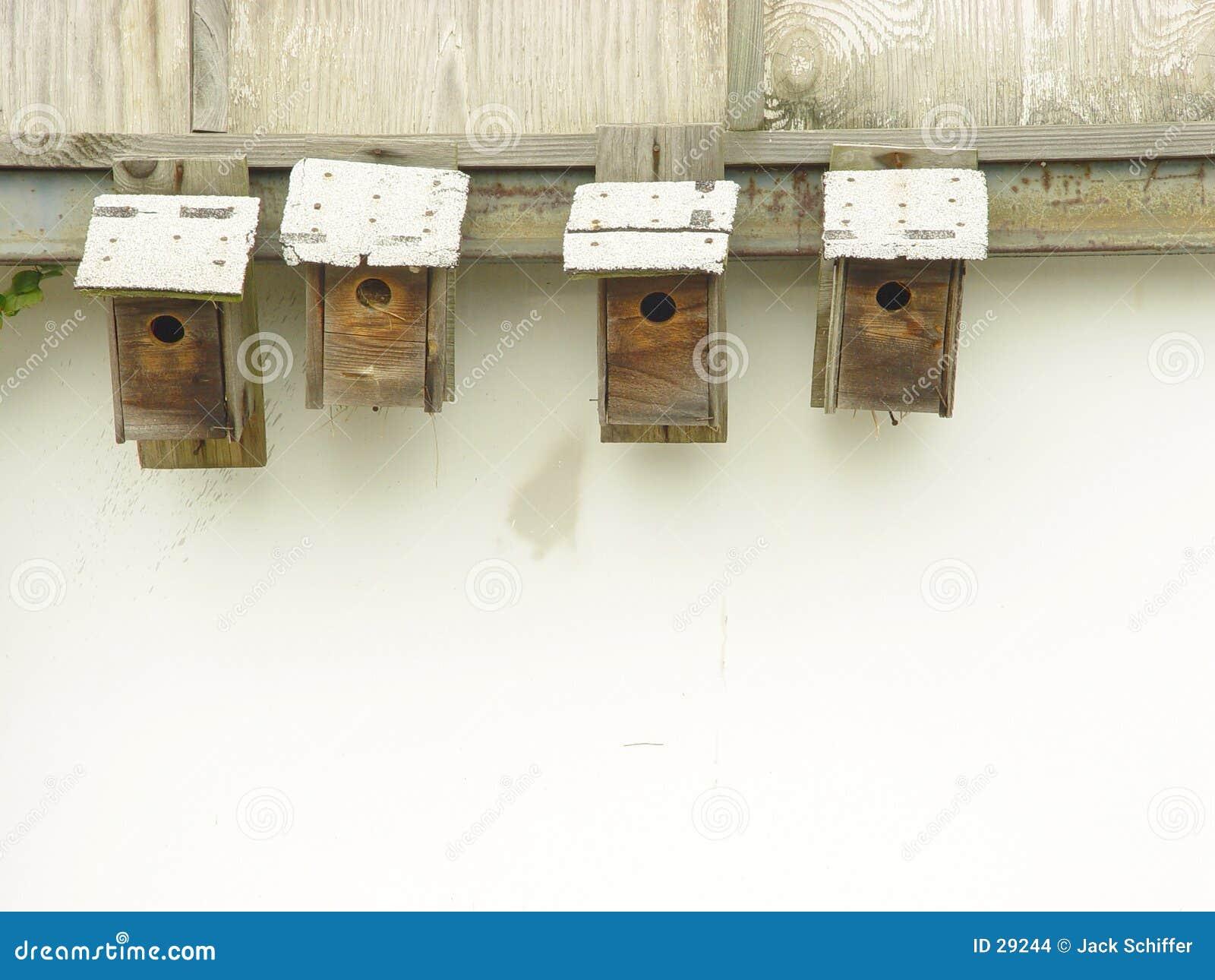 Casas do pássaro