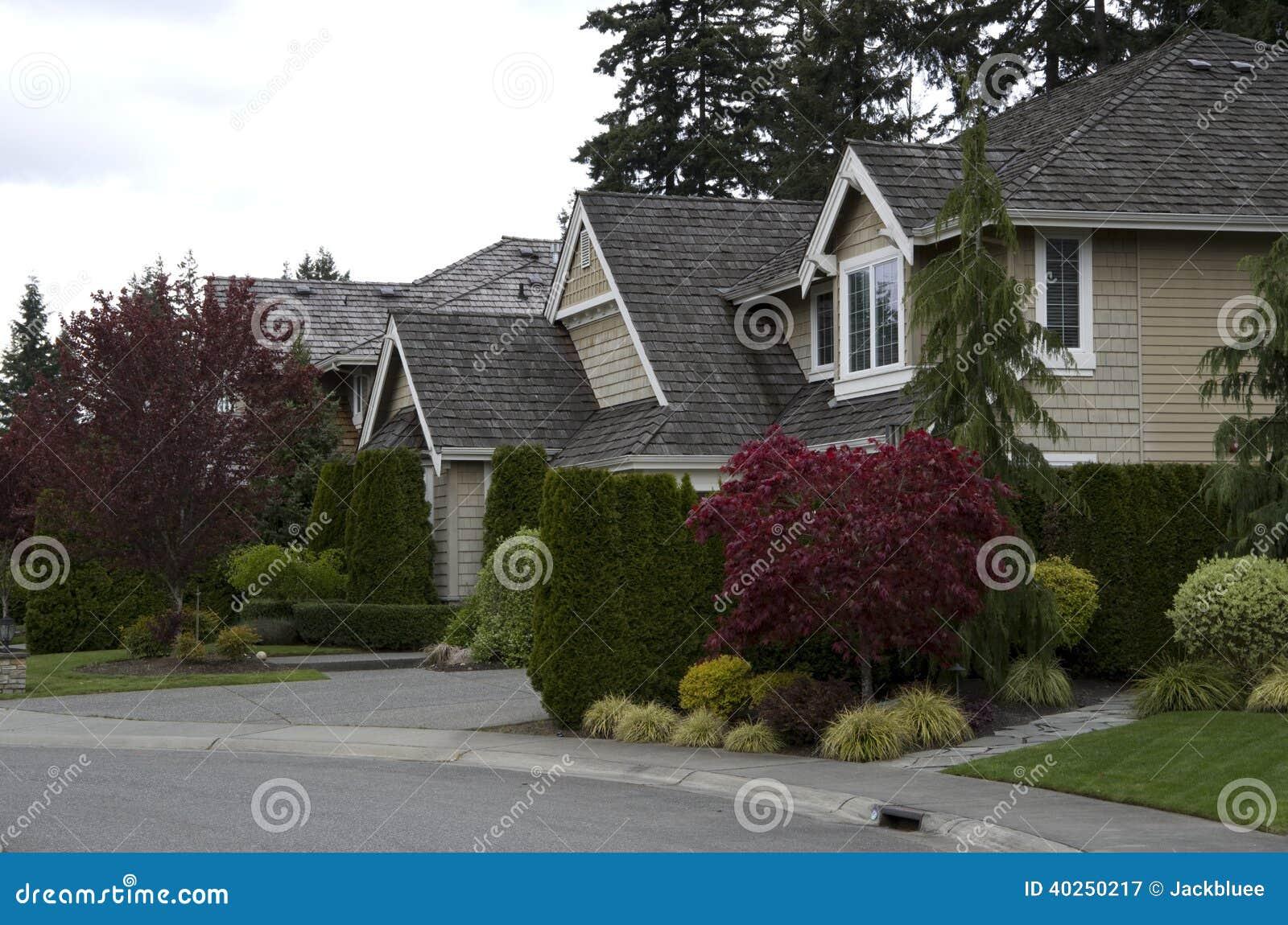 Casas do sonho americano