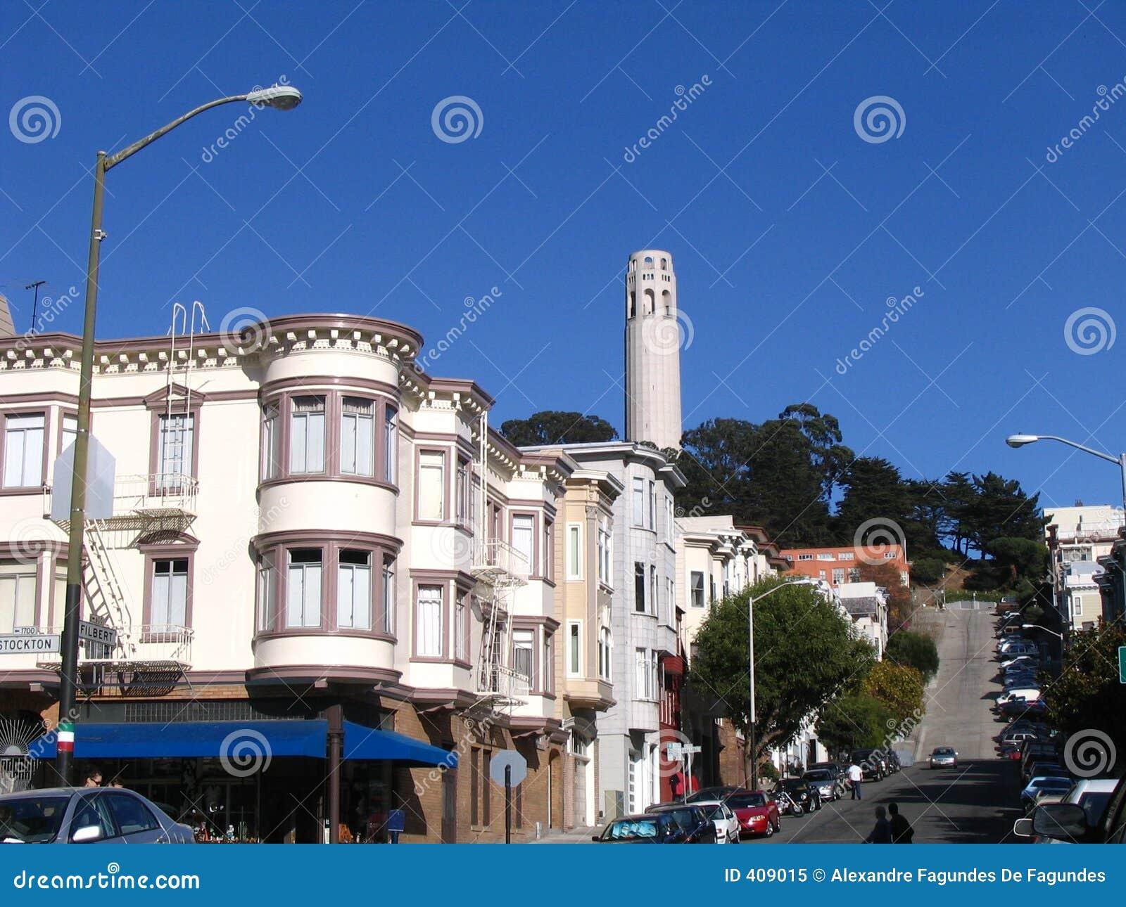 Casas do Victorian em San Francisco