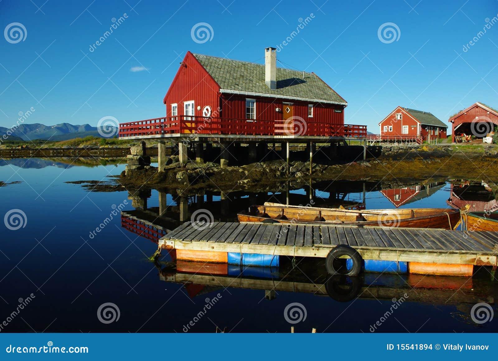 Casas en el mar imagenes de archivo imagen 15541894 - Casas en el mar ...