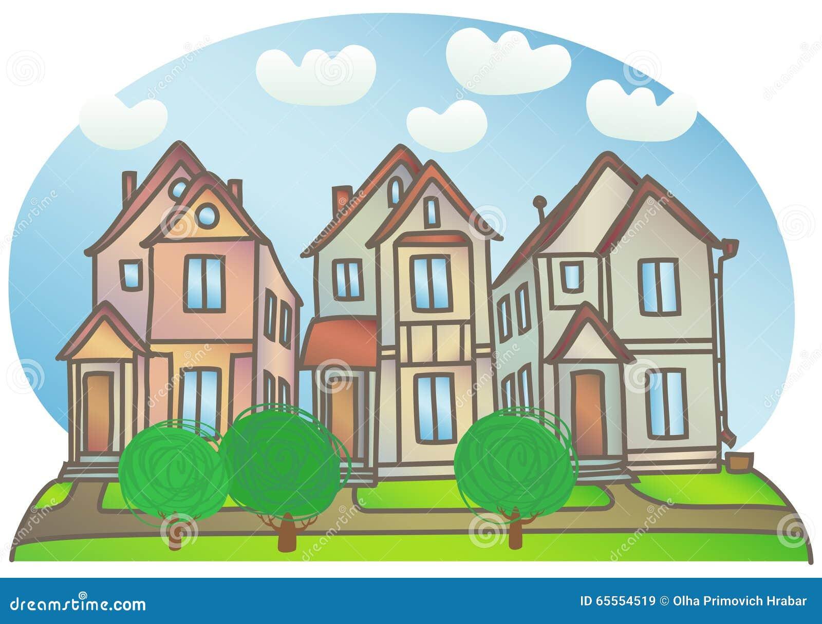 Casas en la calle