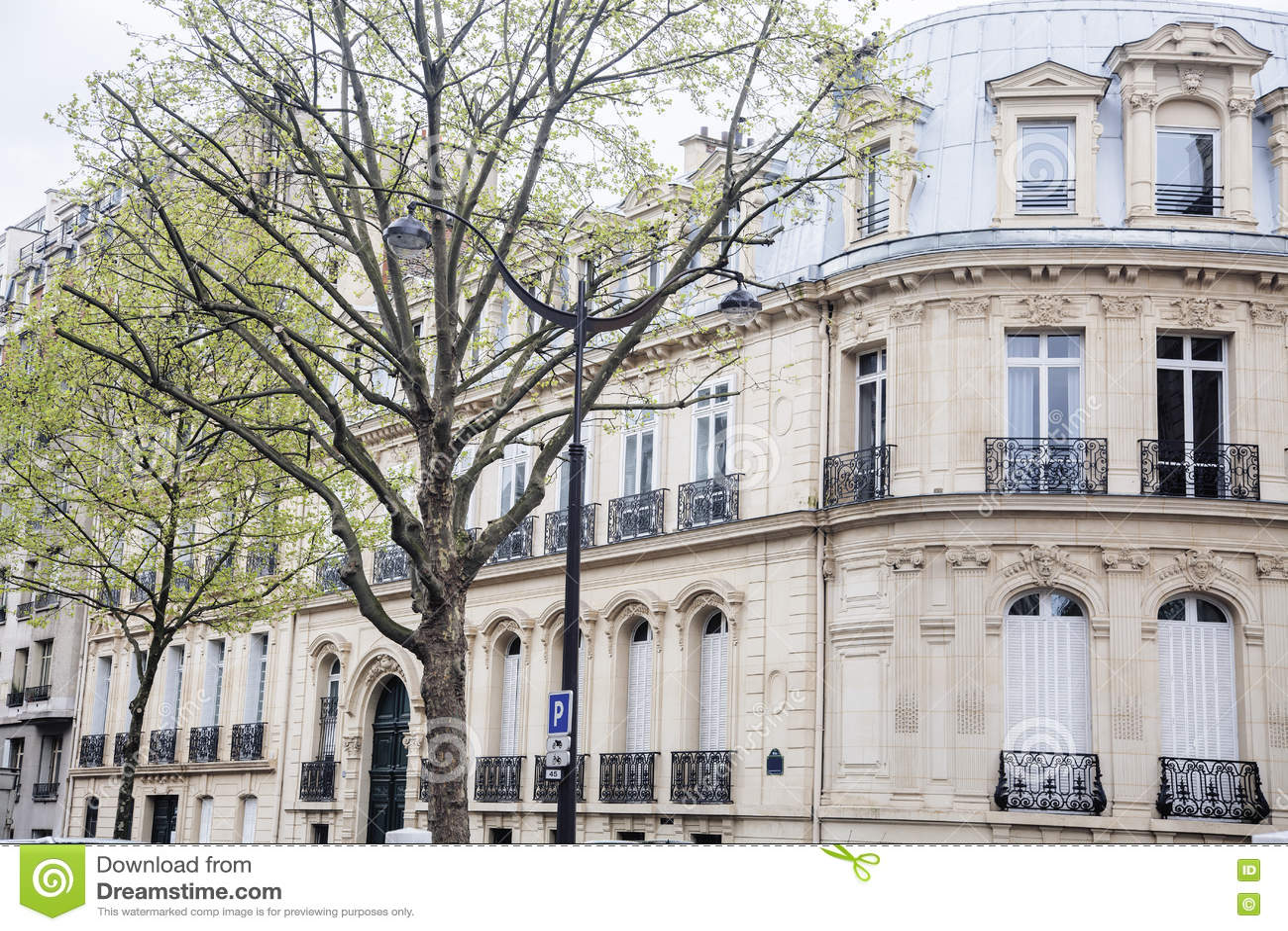 casas en las calles francesas de pars concepto del citylife