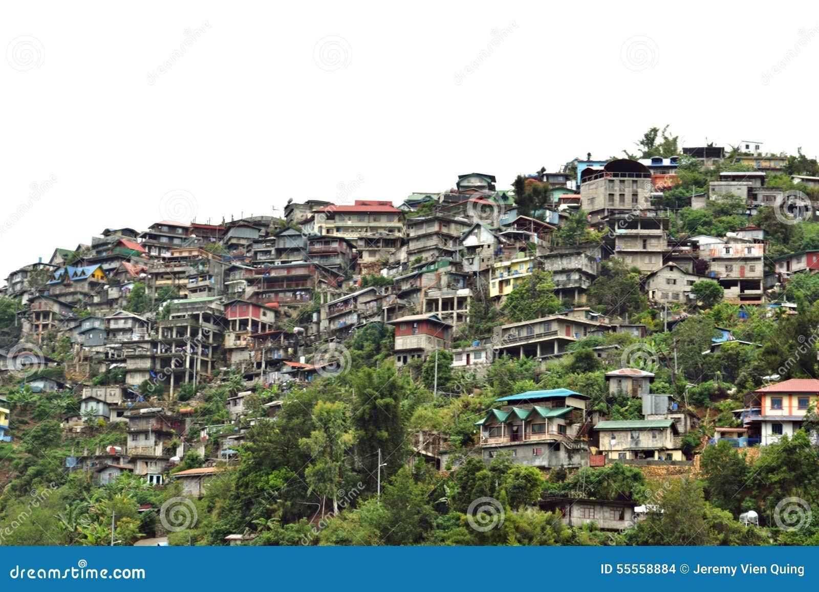Casas en las montañas: Ciudad de Baguio, Filipinas