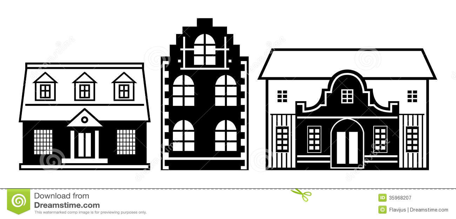 Casas fijadas