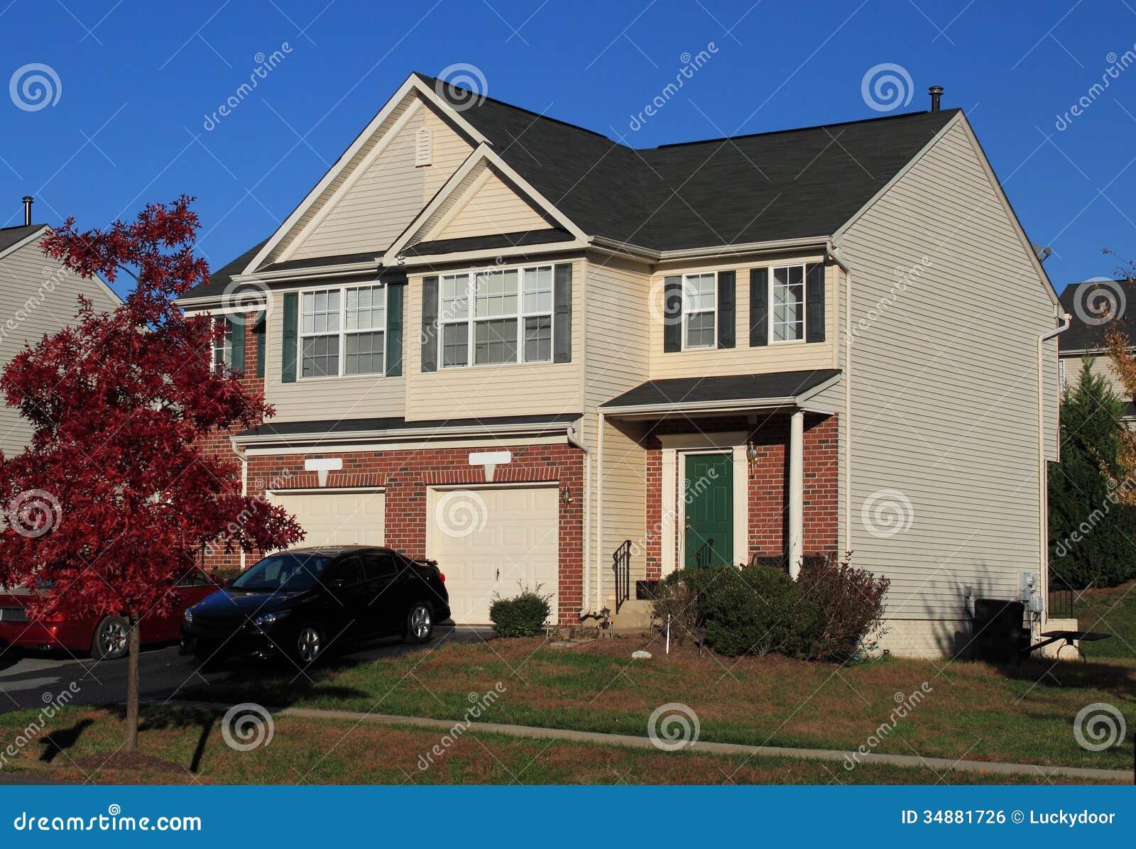 Casas frente e verso