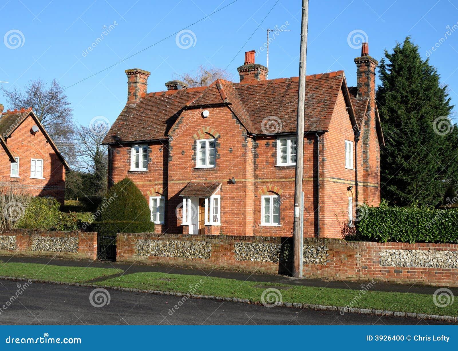 Casas inglesas da vila foto de stock imagem 3926400 - Imagenes de casas inglesas ...