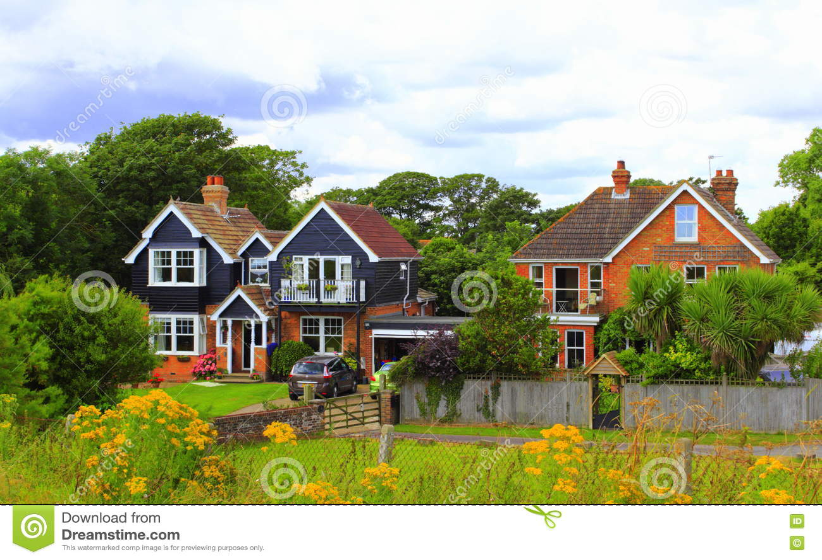 Casas inglesas del campo imagen editorial imagen de victorian 81764405 - Imagenes de casas inglesas ...