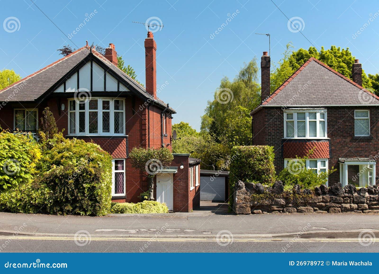 Casas inglesas t picas fotograf a de archivo imagen 26978972 - Imagenes de casas inglesas ...