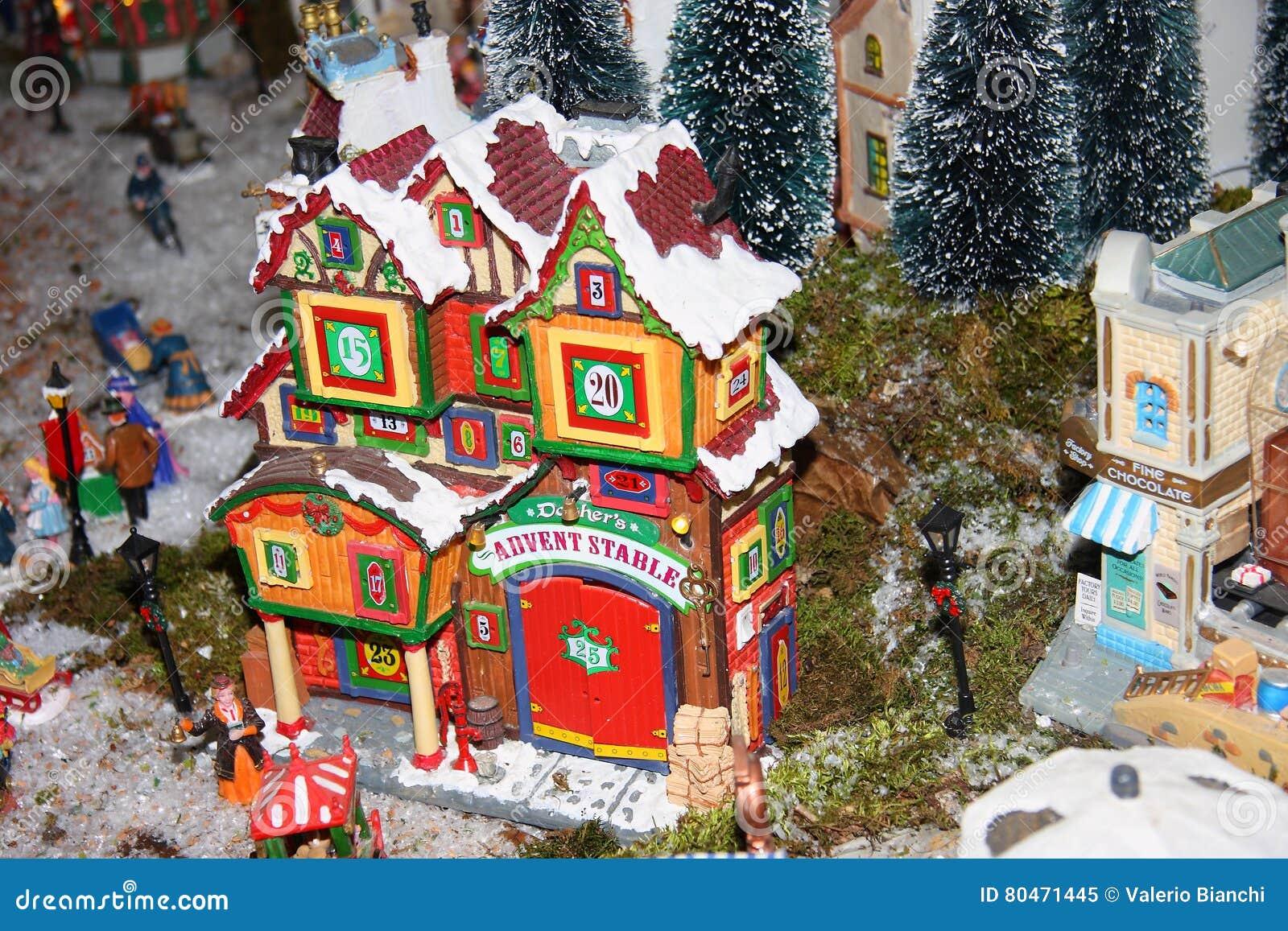 Casas na miniatura
