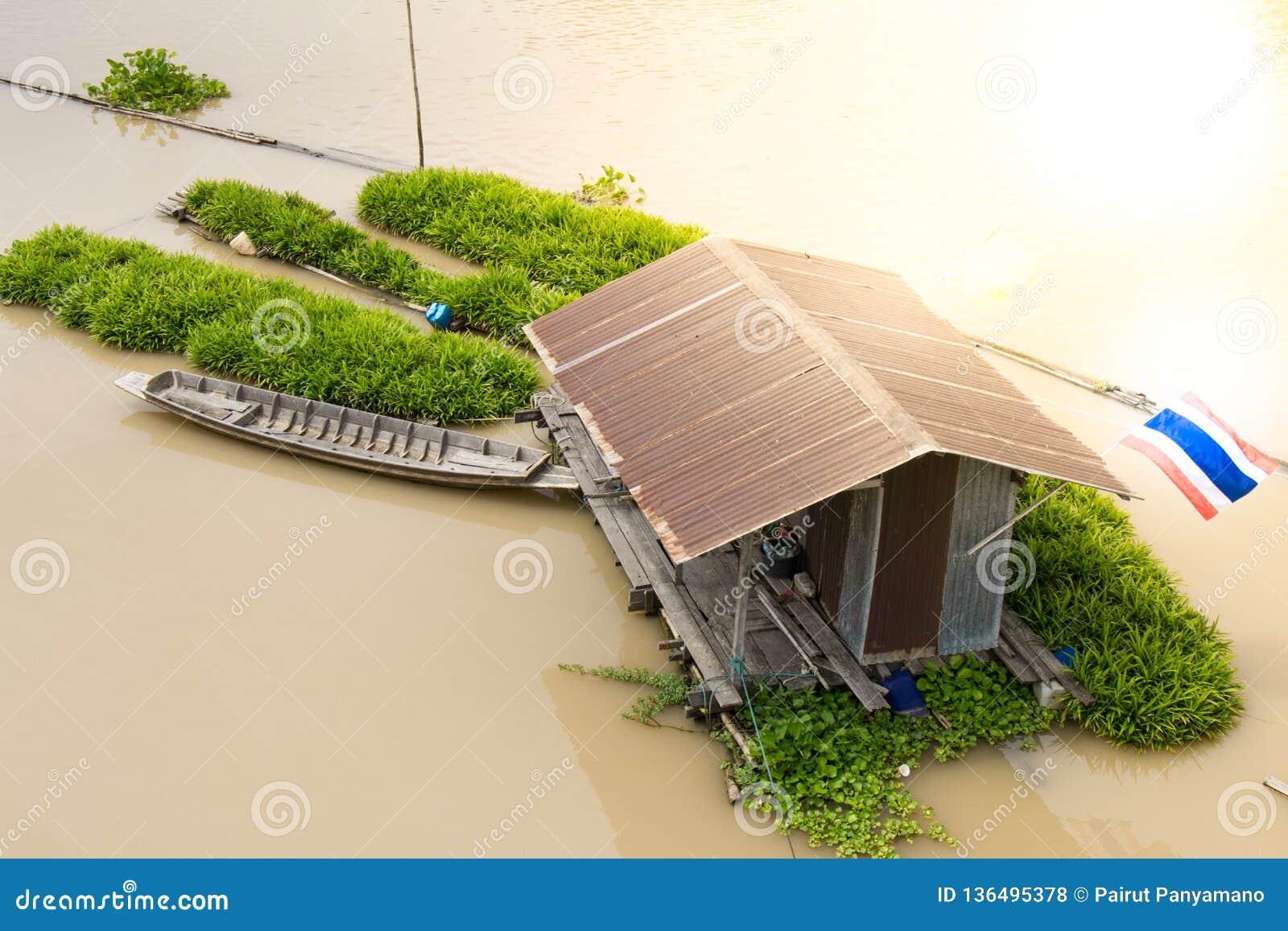 Casas no rio