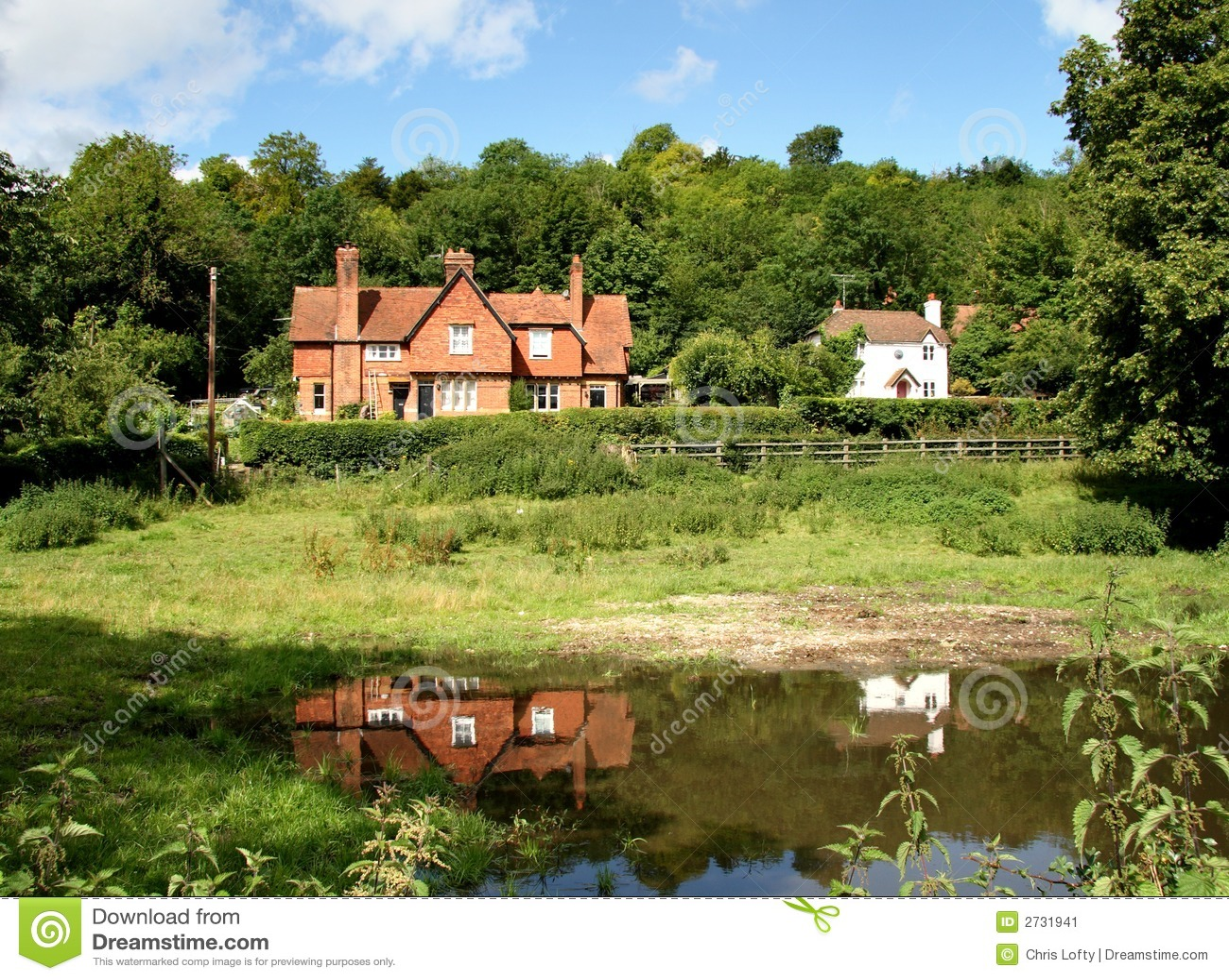 Casas rurales inglesas imagen de archivo imagen de r stico 2731941 - Casa rural cerca de siguenza ...