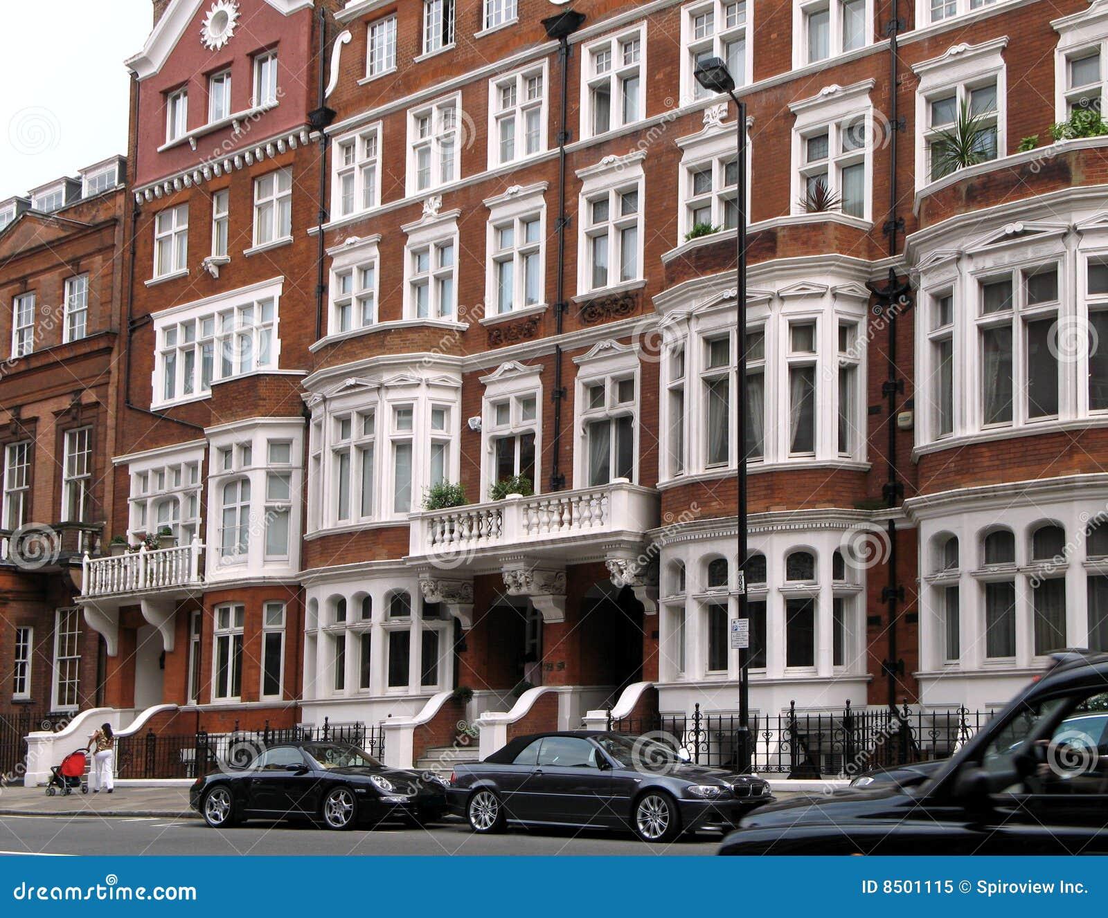 Casas urbanas elegantes de Londres