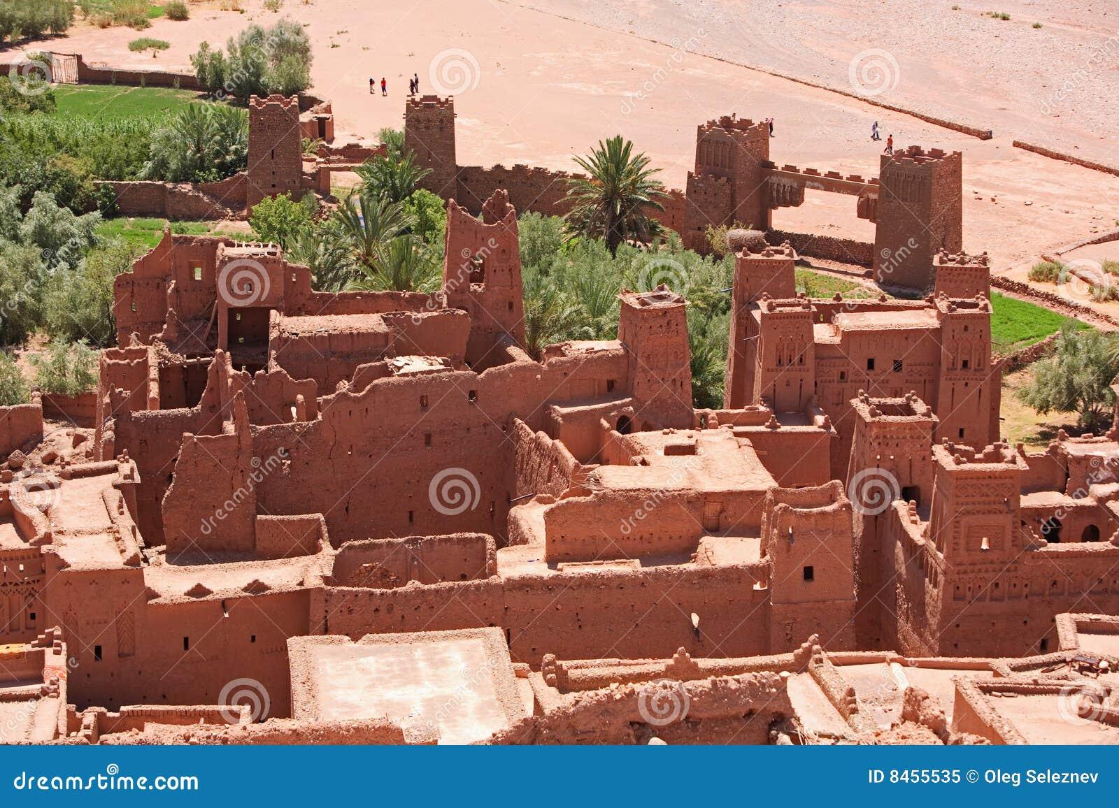 Casbah Марокко benhaddou ait