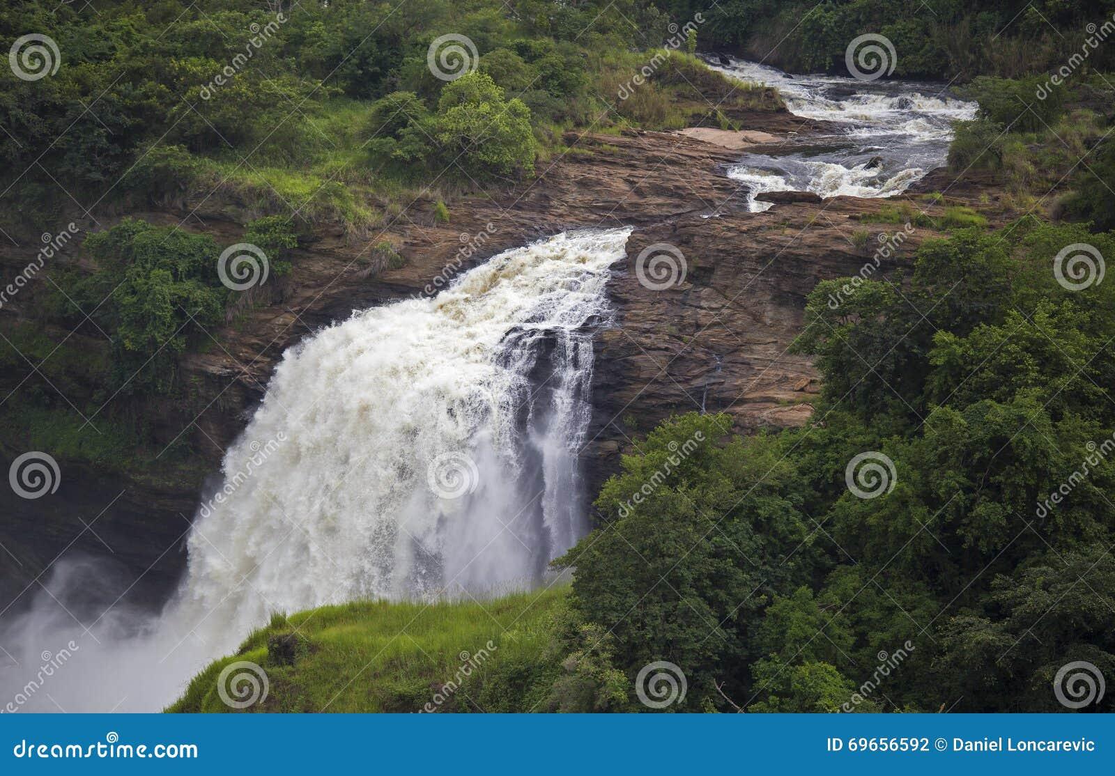 Cascada de las cataratas Murchison