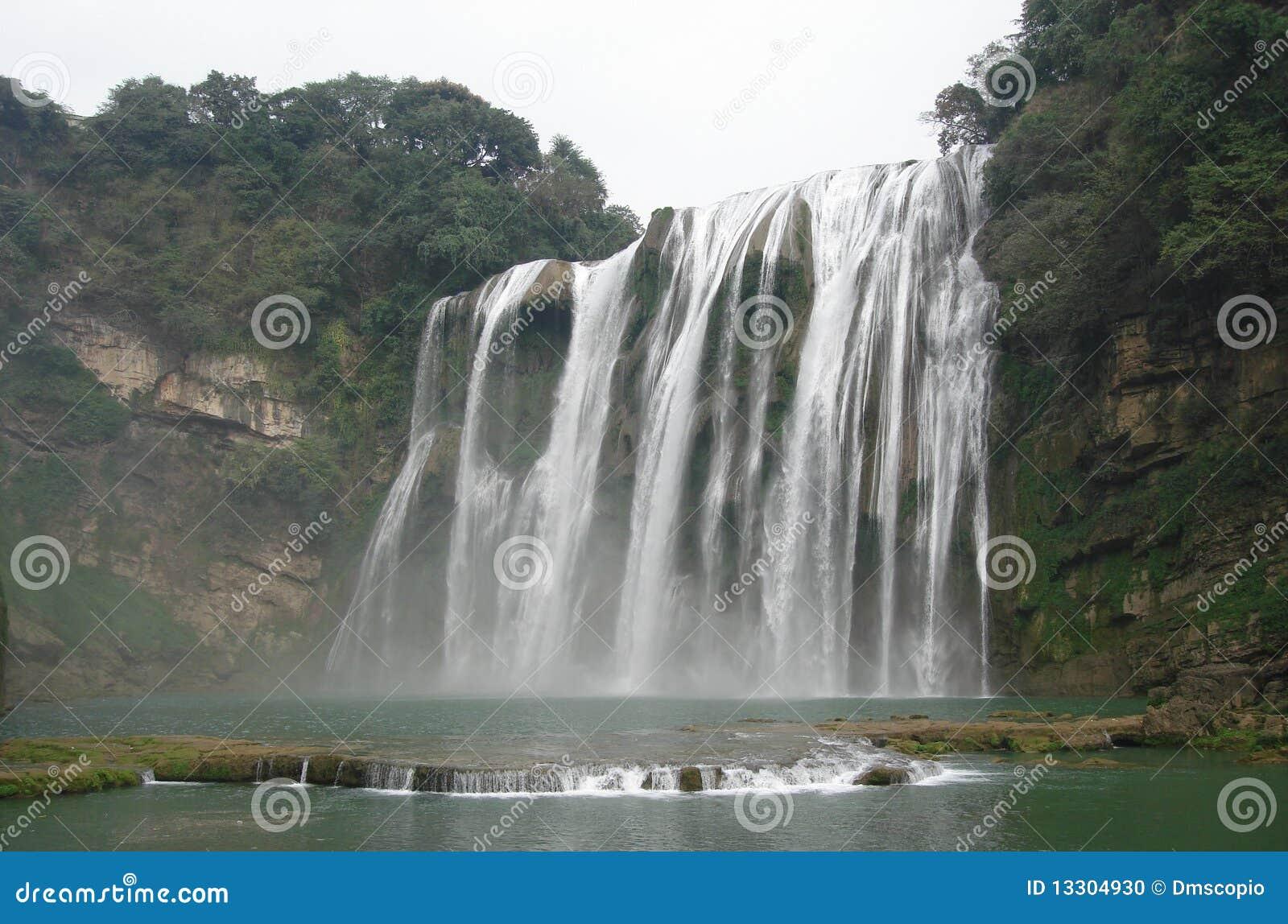 Cascada en Guizhou