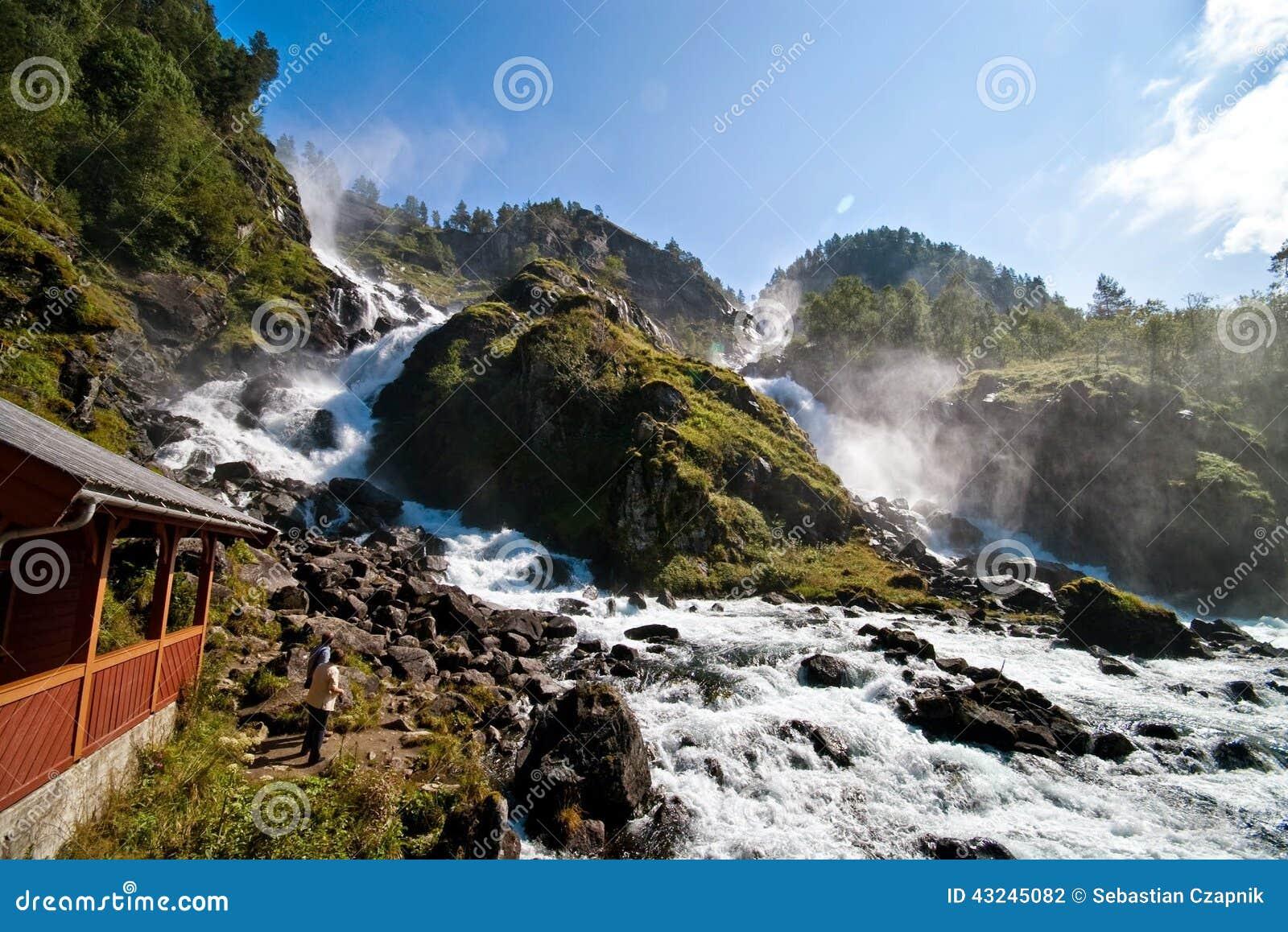 Cascadas de Odda, Noruega