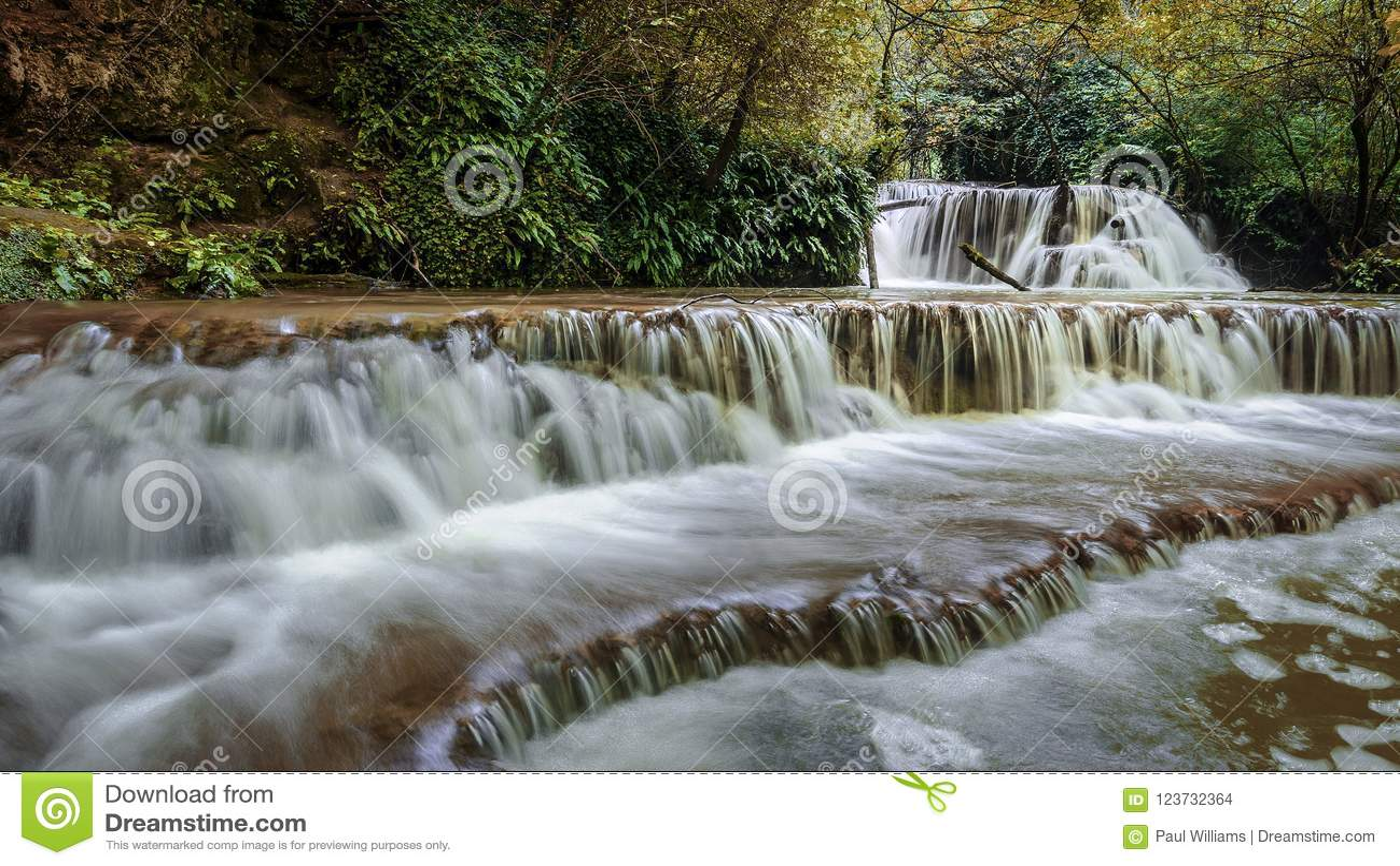 Cascadas del krushuna Bulgaria