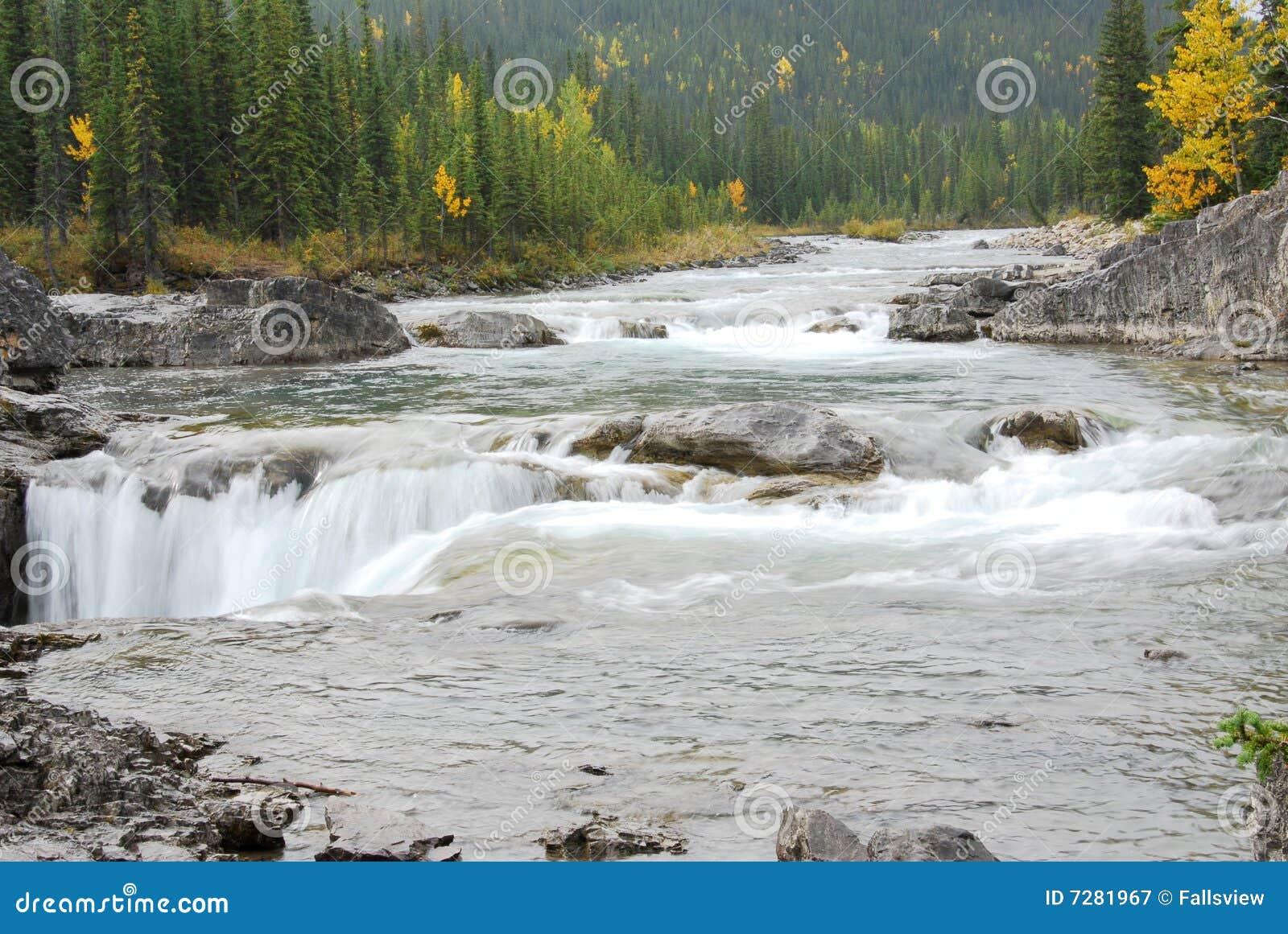 Cascadas del río de las ovejas
