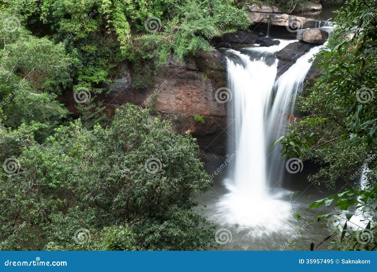 Cascadas en Tailandia.