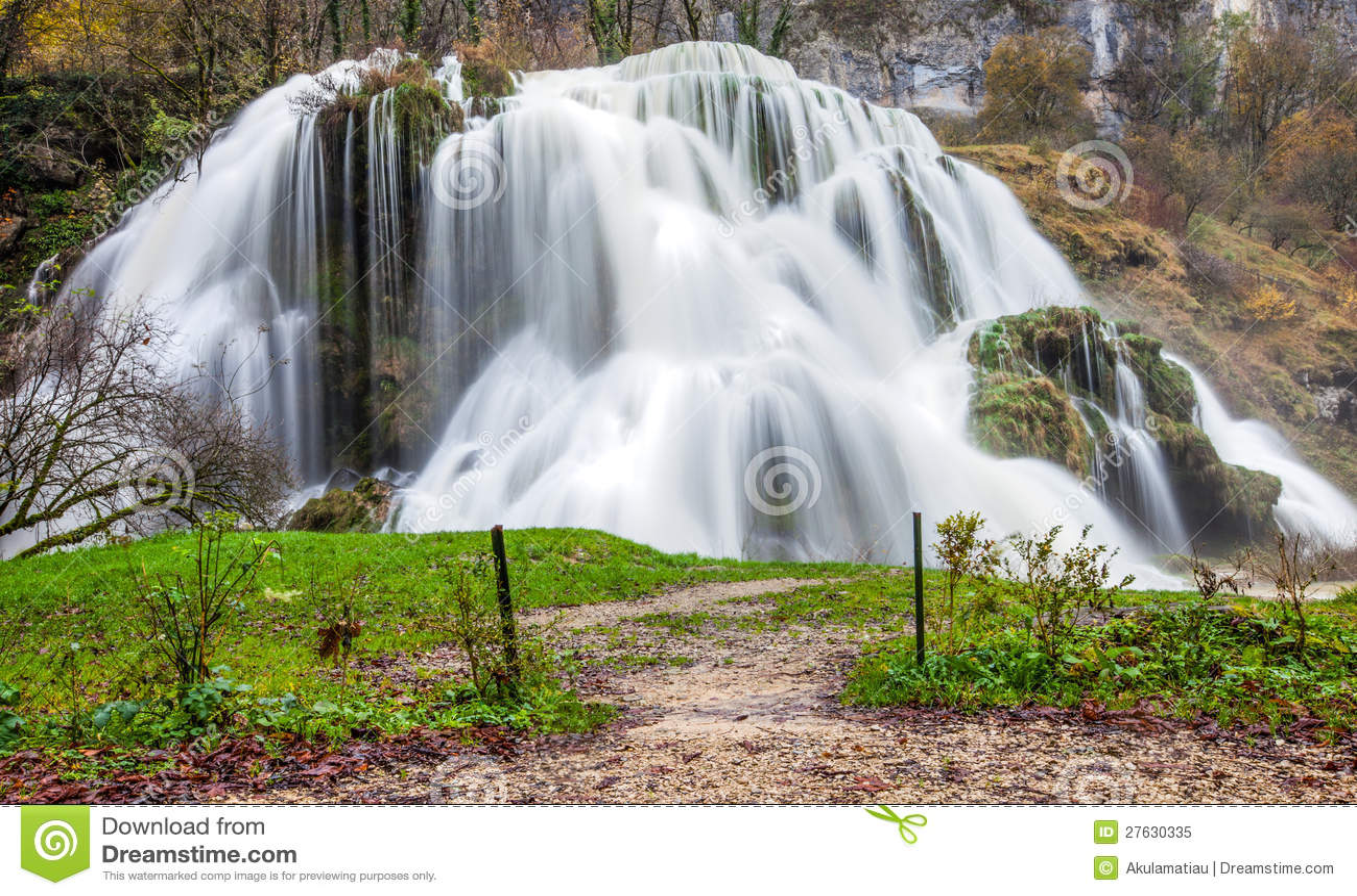 Cascade des Tufs, France