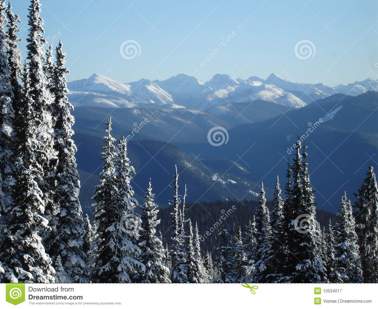 Cascade mountain range royalty free stock photography image