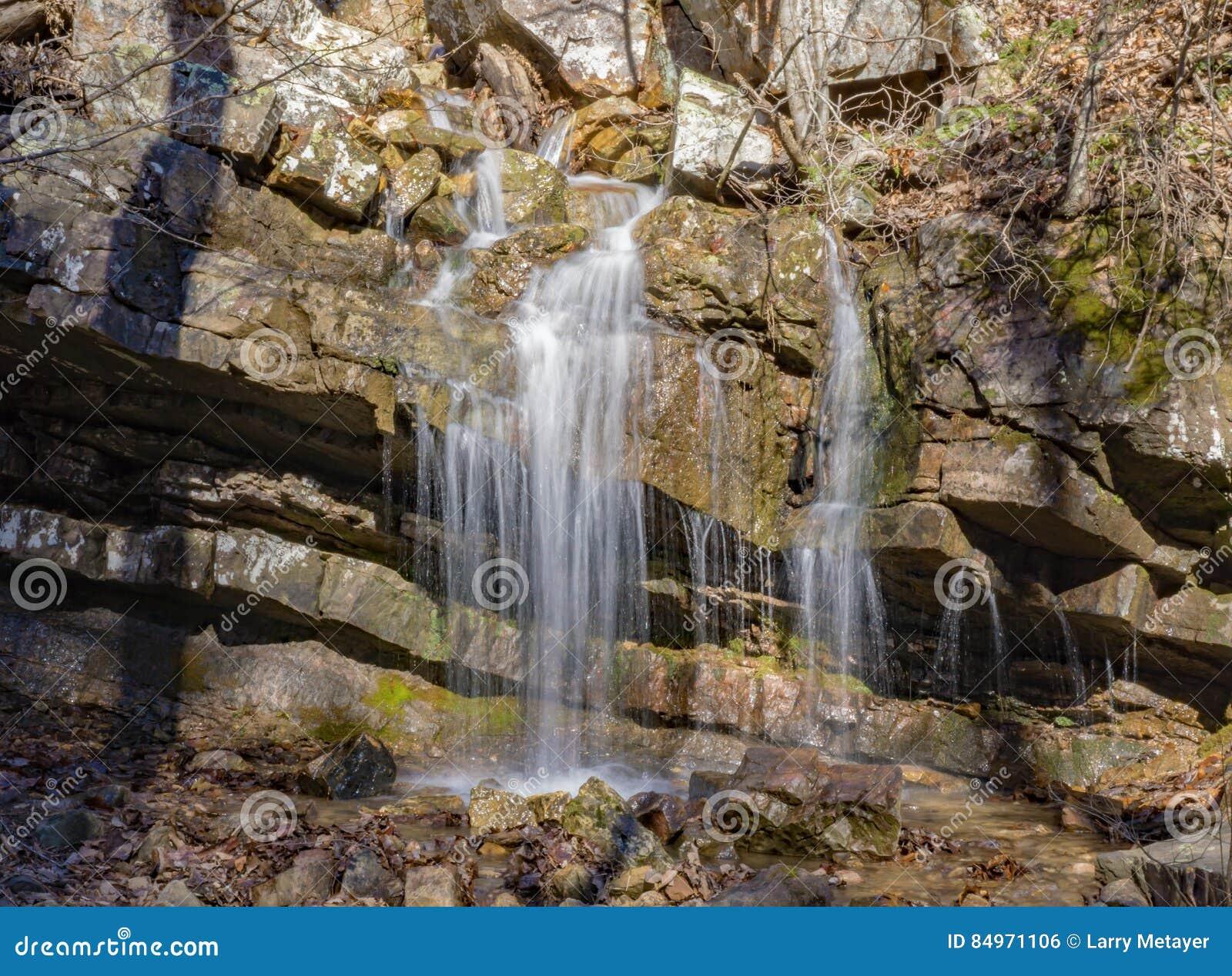 Cascades de cascade, la Virginie, Etats-Unis