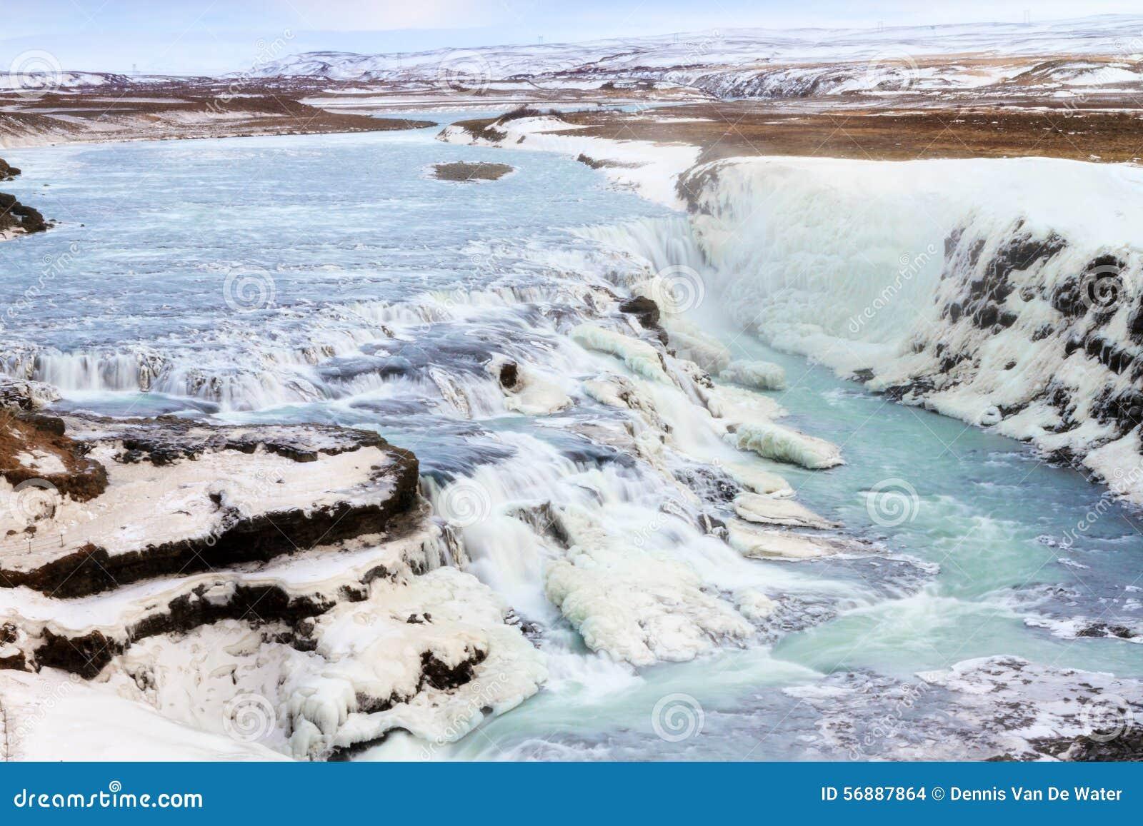 Cascata della cascata di Gullfoss