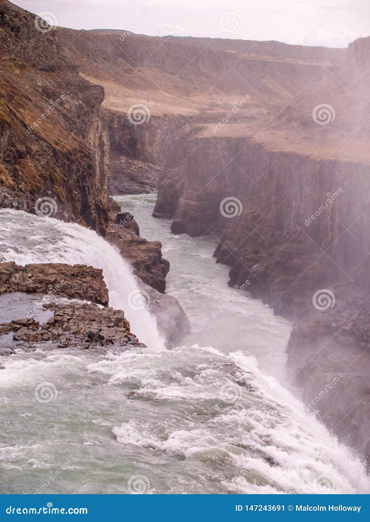Cascata di Gullfoss, Islanda