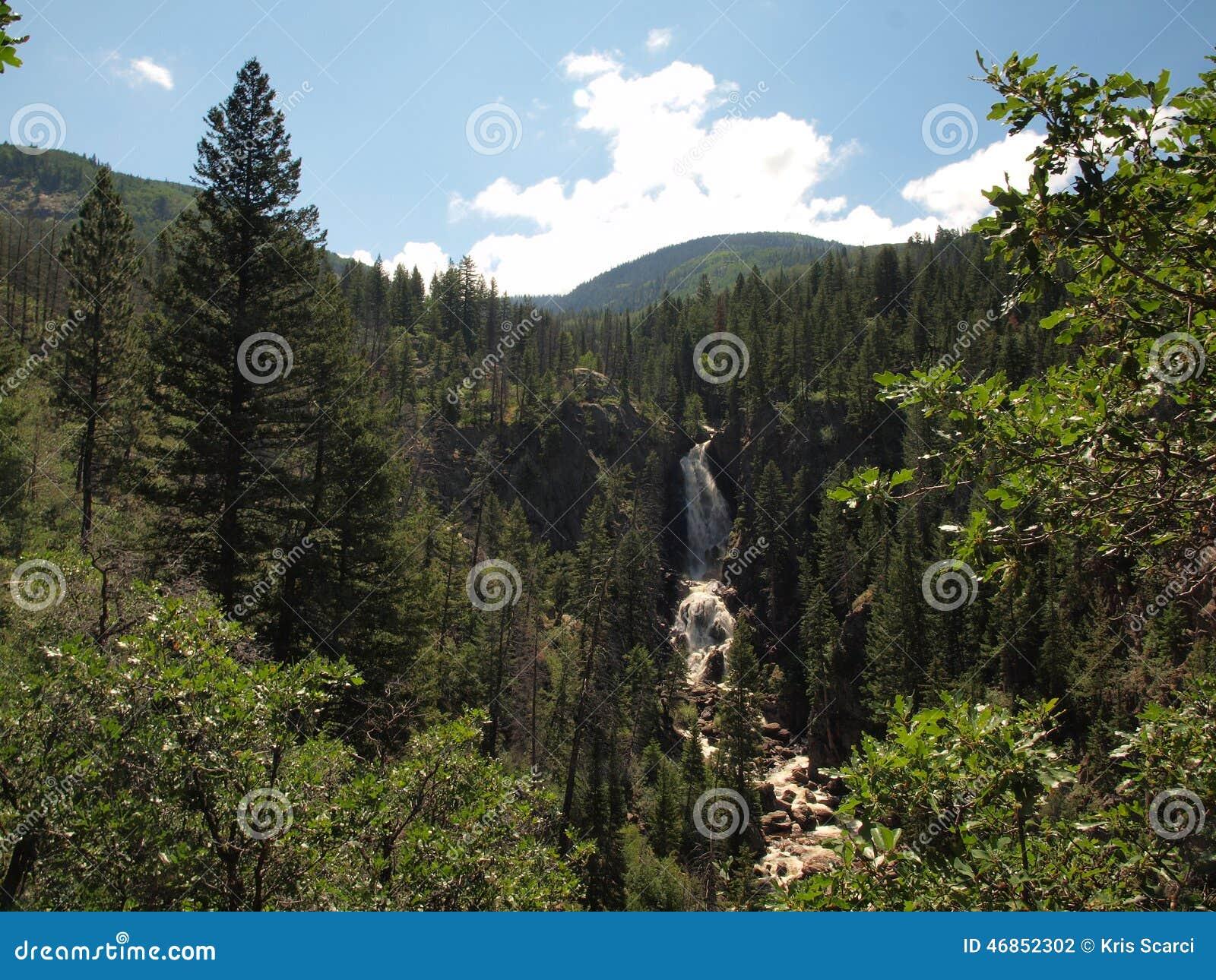 Cascata vicino a Steamboat Springs
