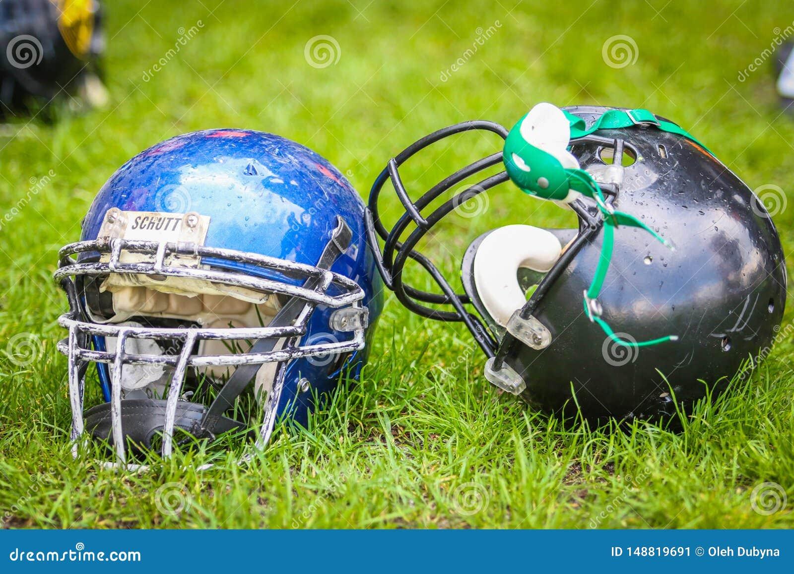 Caschi per il gioco del football americano