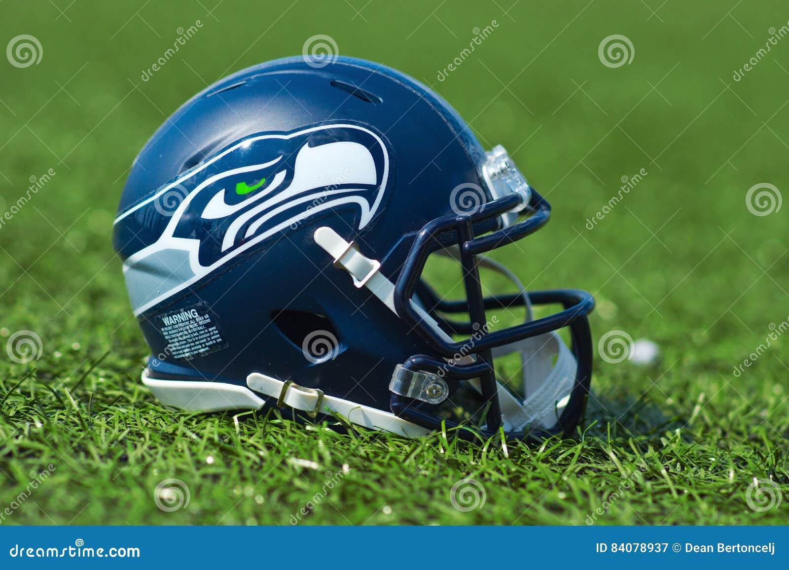 Casco De Seattle Seahawkss NFL Fotografía editorial - Imagen de ...