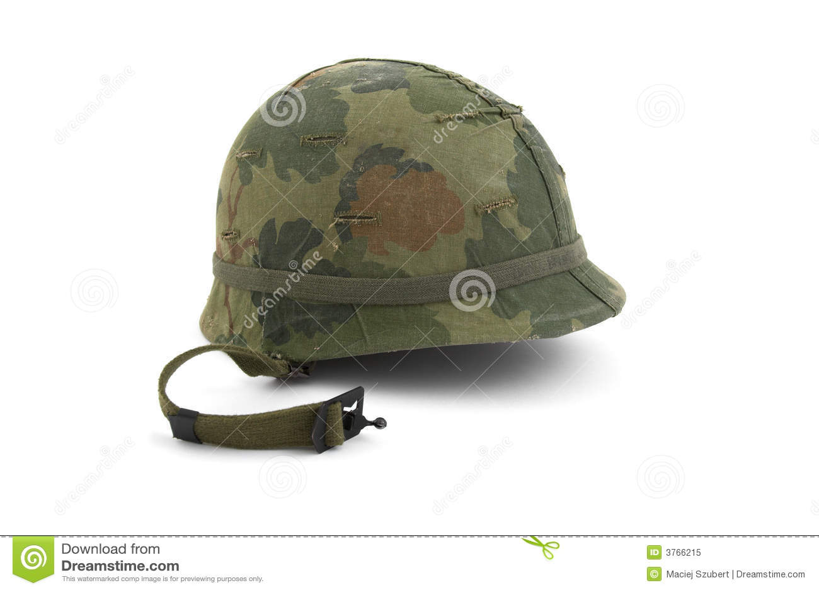 Casco del Ejército del EE. UU. - era de Vietnam