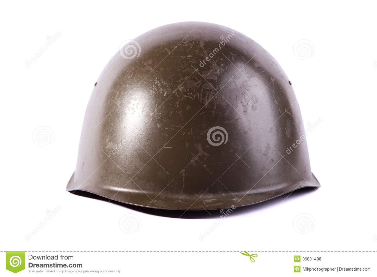 Download Casco dell'esercito fotografia stock. Immagine di brown - 36891408