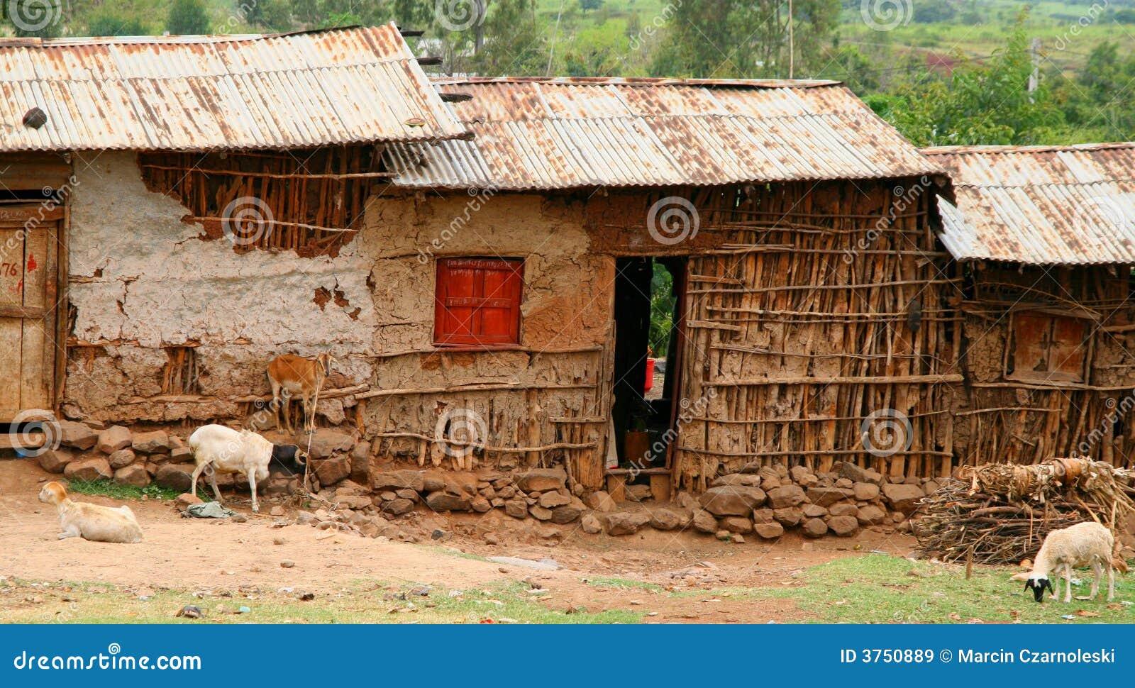 Case africane in etiopia immagine stock immagine di for Immagini case